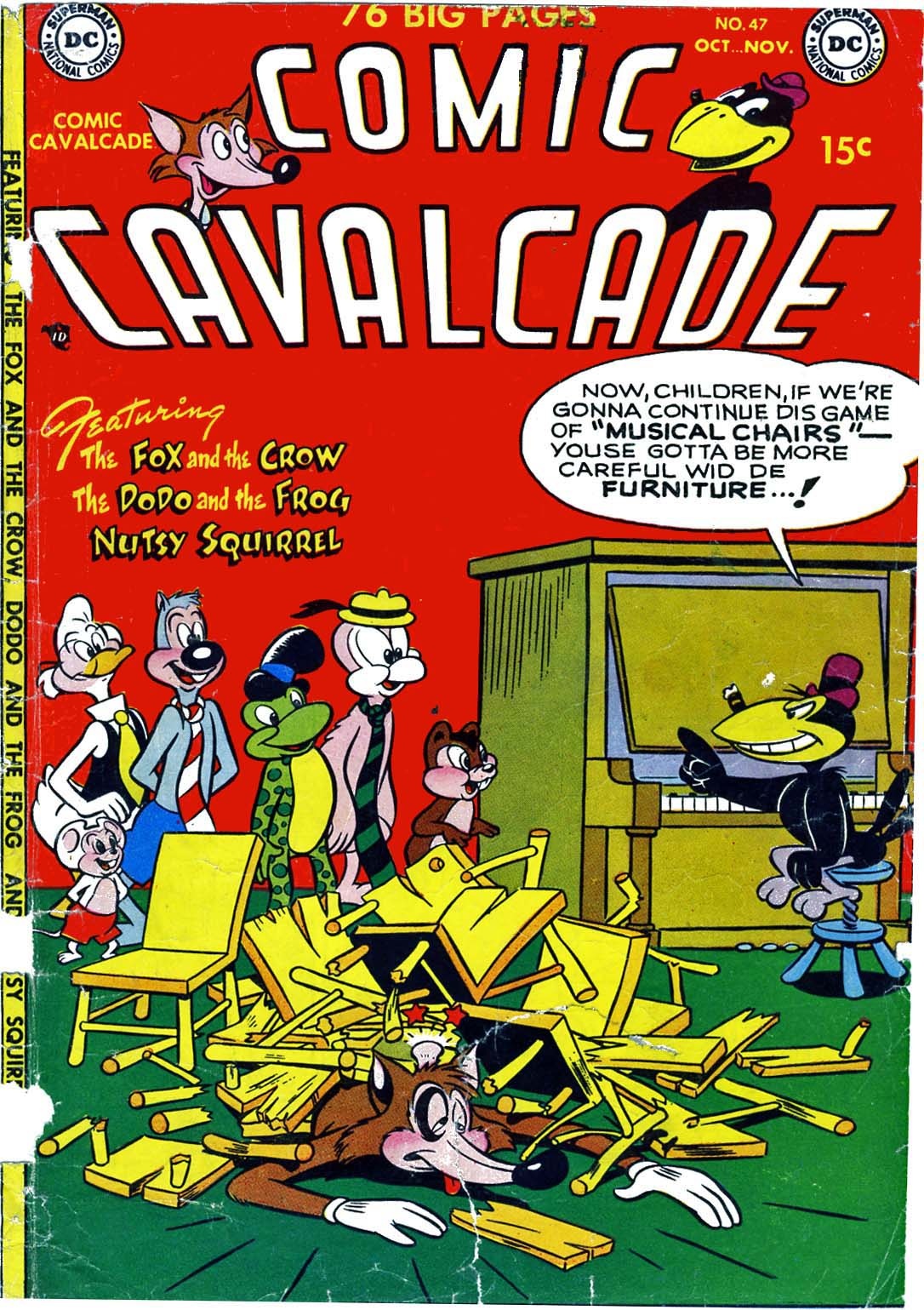 Comic Cavalcade issue 47 - Page 1