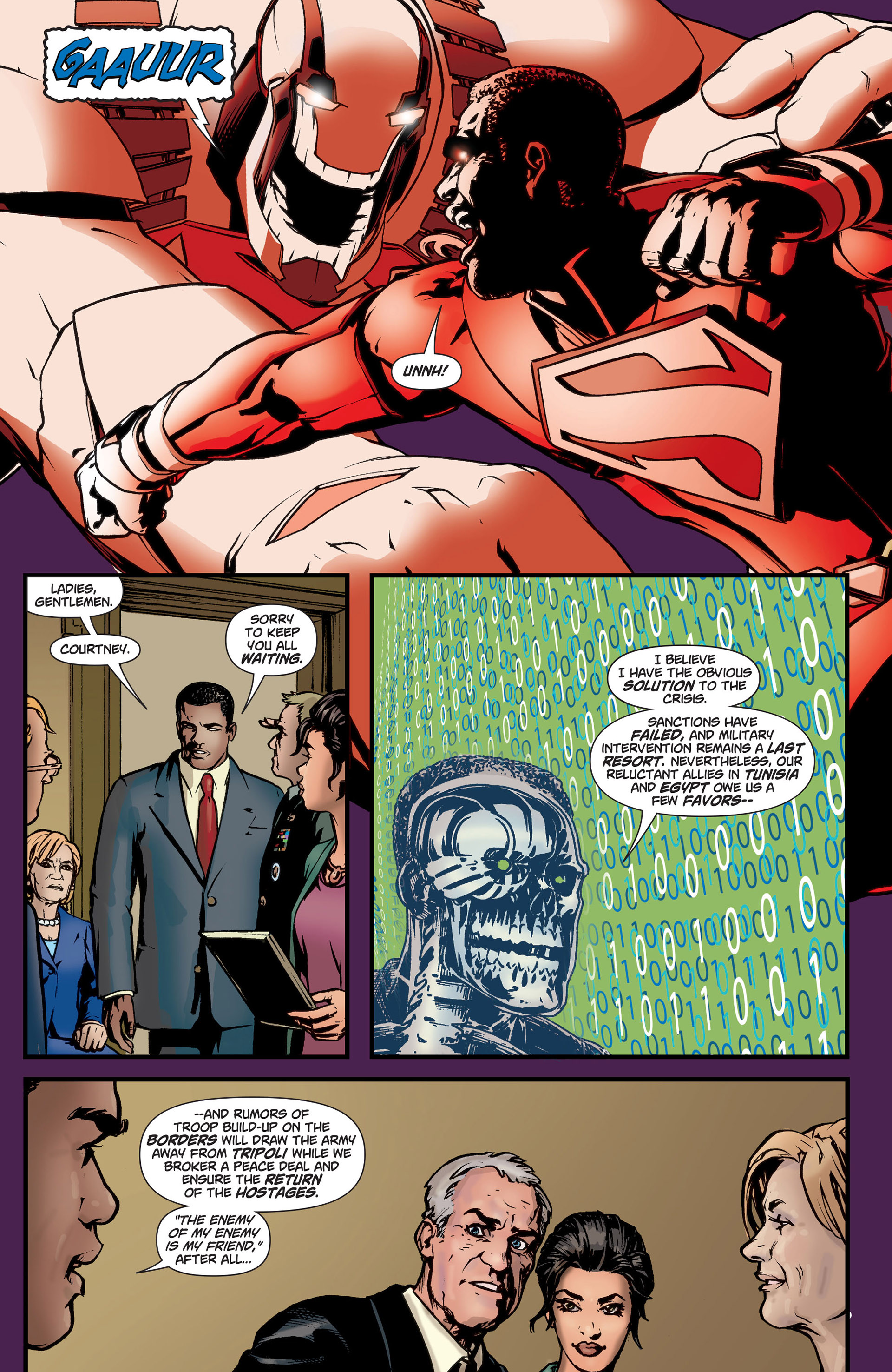 Read online Action Comics (2011) comic -  Issue #9 - 17