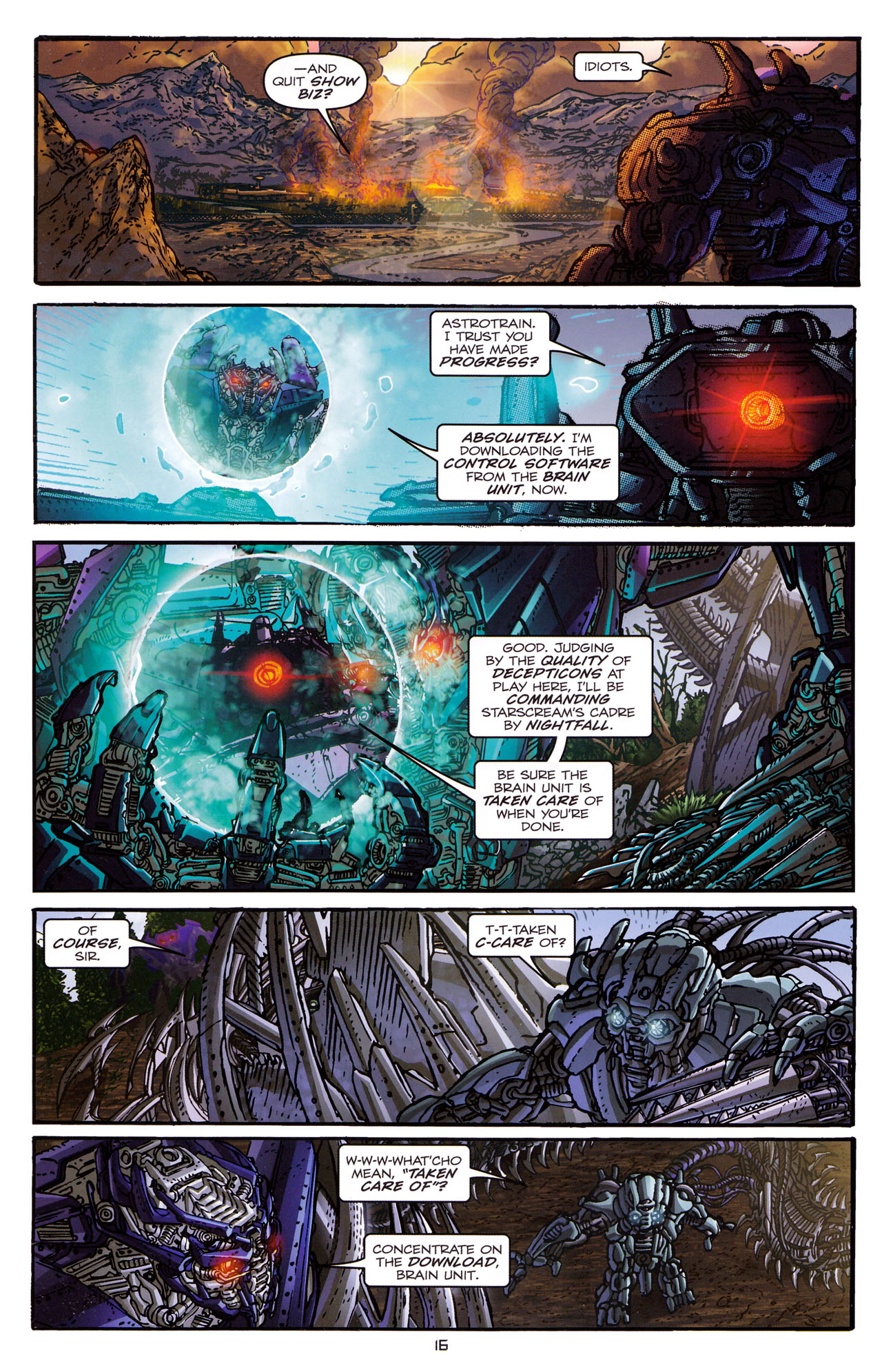 Read online Transformers: Dark of the Moon Rising Storm comic -  Issue #1 - 19