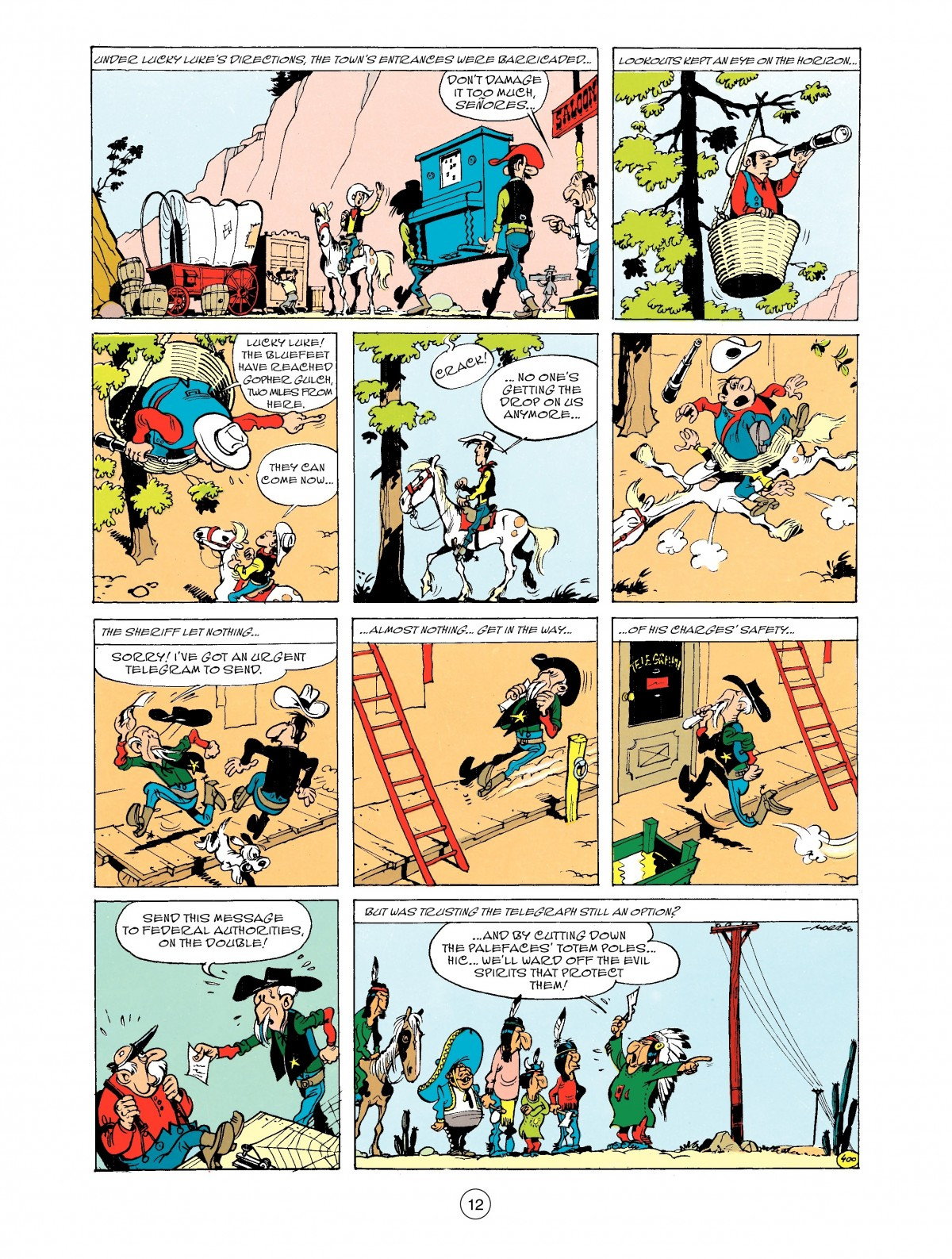 Read online A Lucky Luke Adventure comic -  Issue #43 - 12