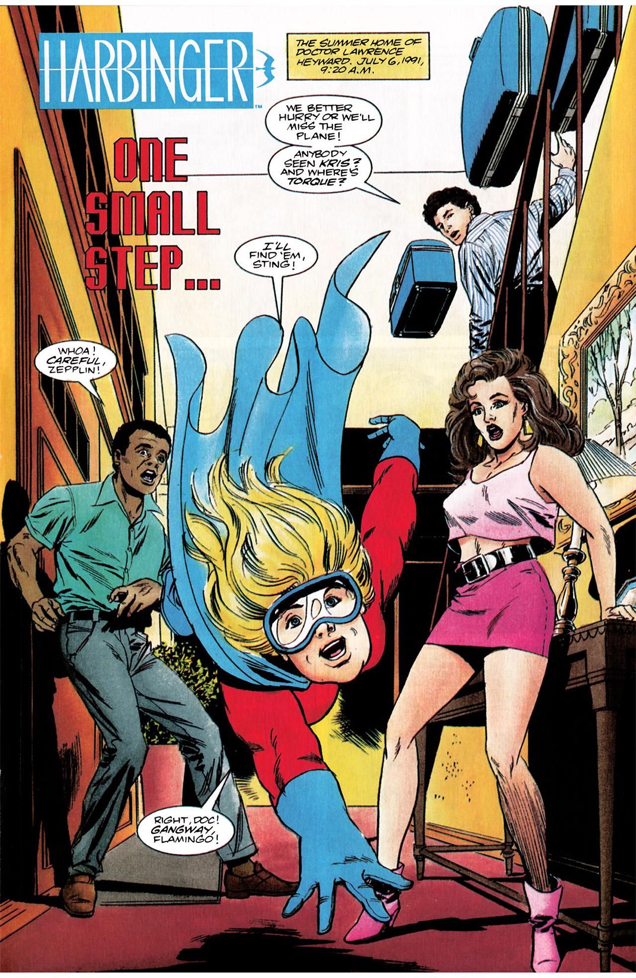 Read online Harbinger (1992) comic -  Issue #3 - 2