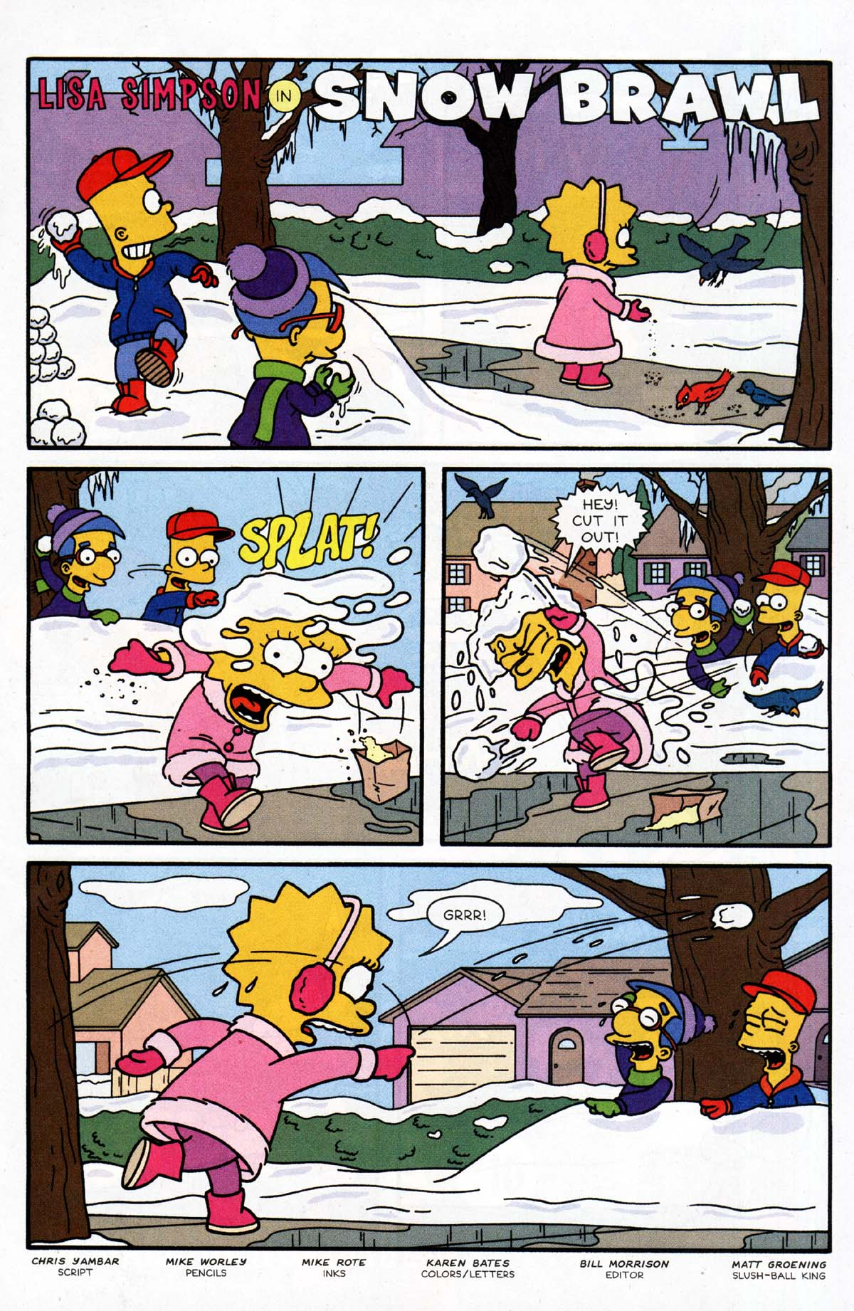 Read online Simpsons Comics Presents Bart Simpson comic -  Issue #10 - 12