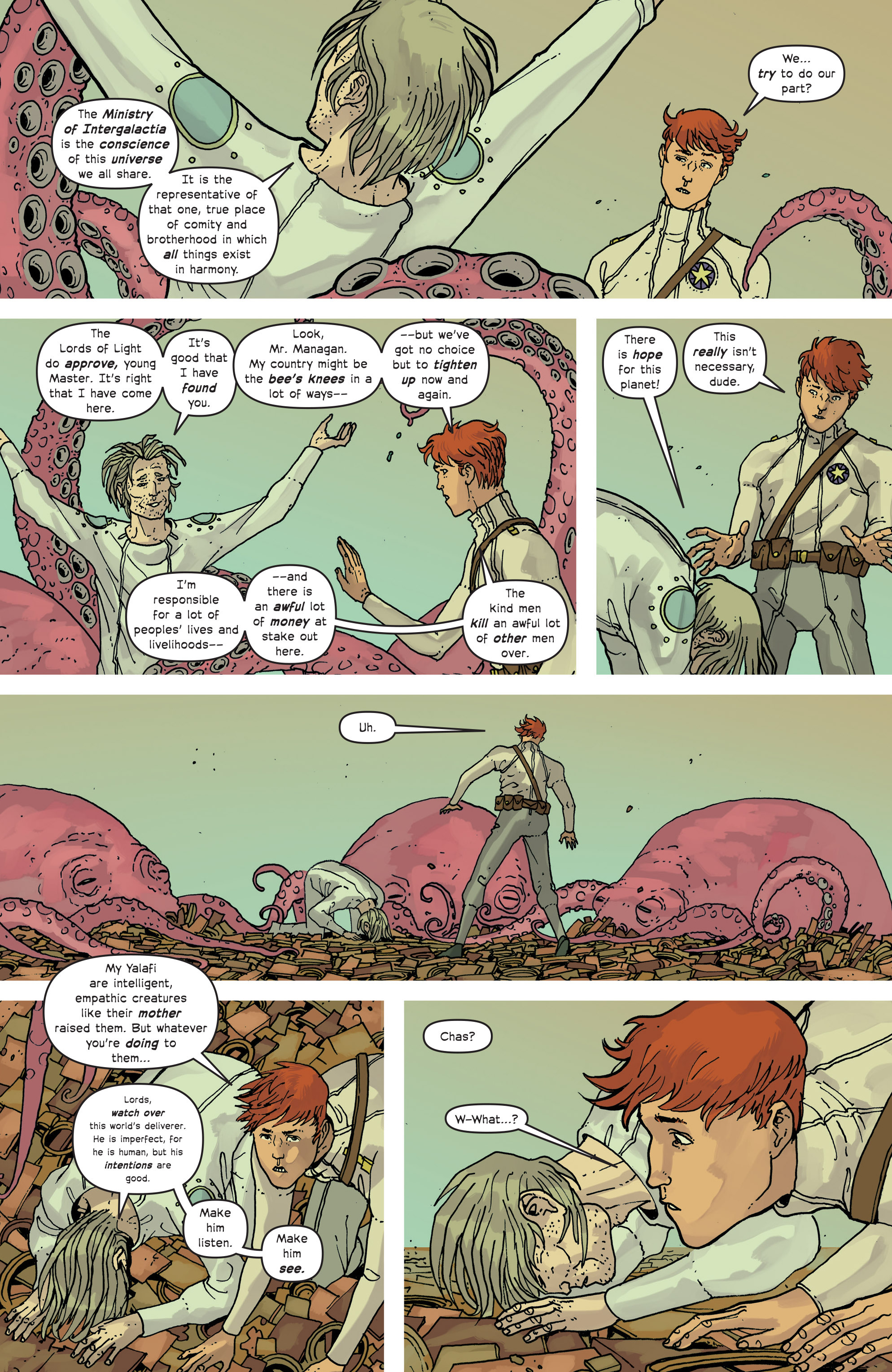 Read online Great Pacific comic -  Issue #13 - 17