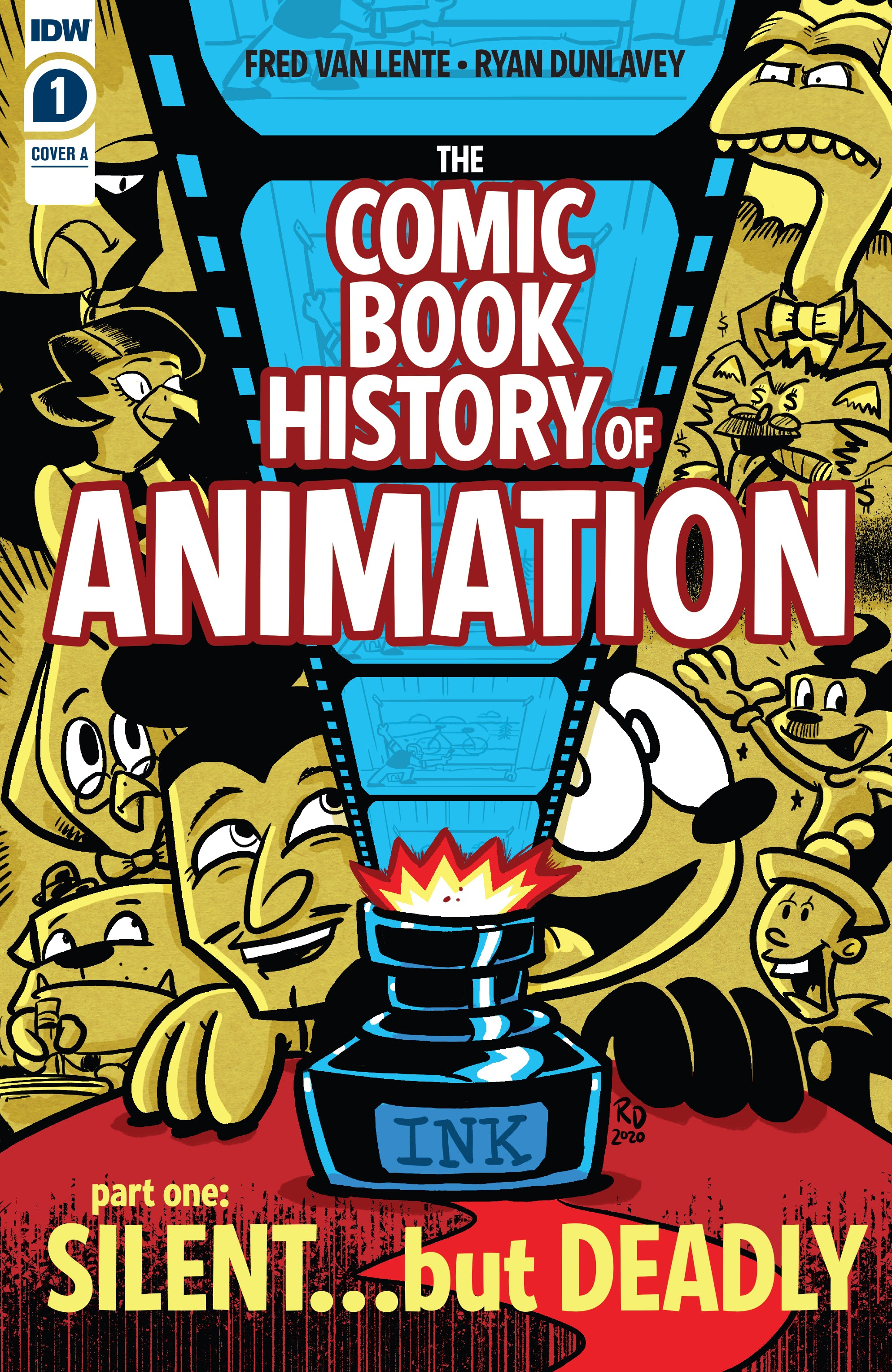 Comic Book History of Animation issue 1 - Page 1