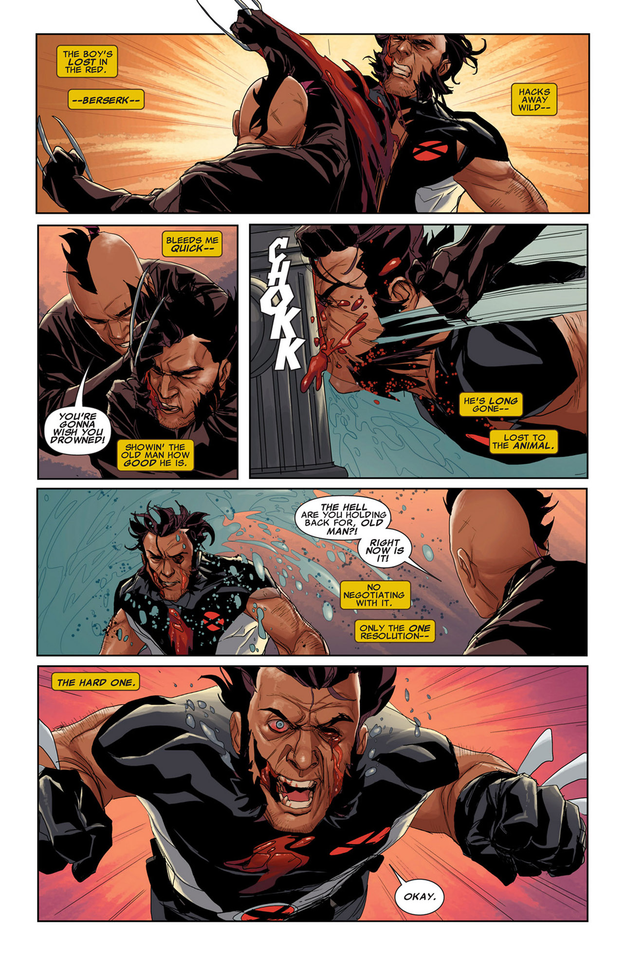 Read online Uncanny X-Force (2010) comic -  Issue #34 - 15