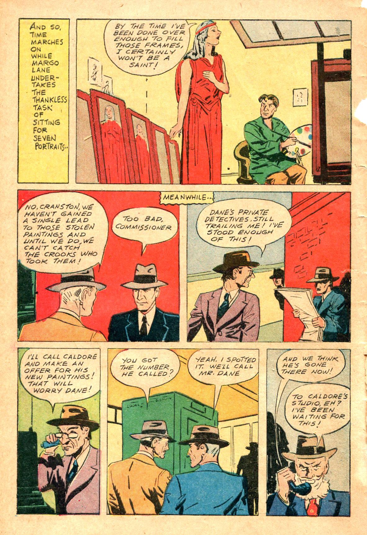 Read online Shadow Comics comic -  Issue #47 - 11