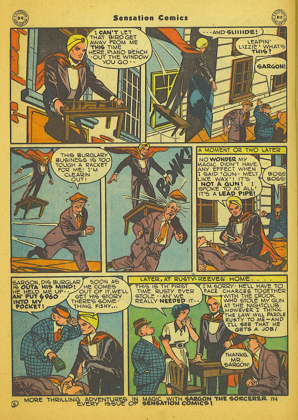 Read online Sensation (Mystery) Comics comic -  Issue #66 - 30