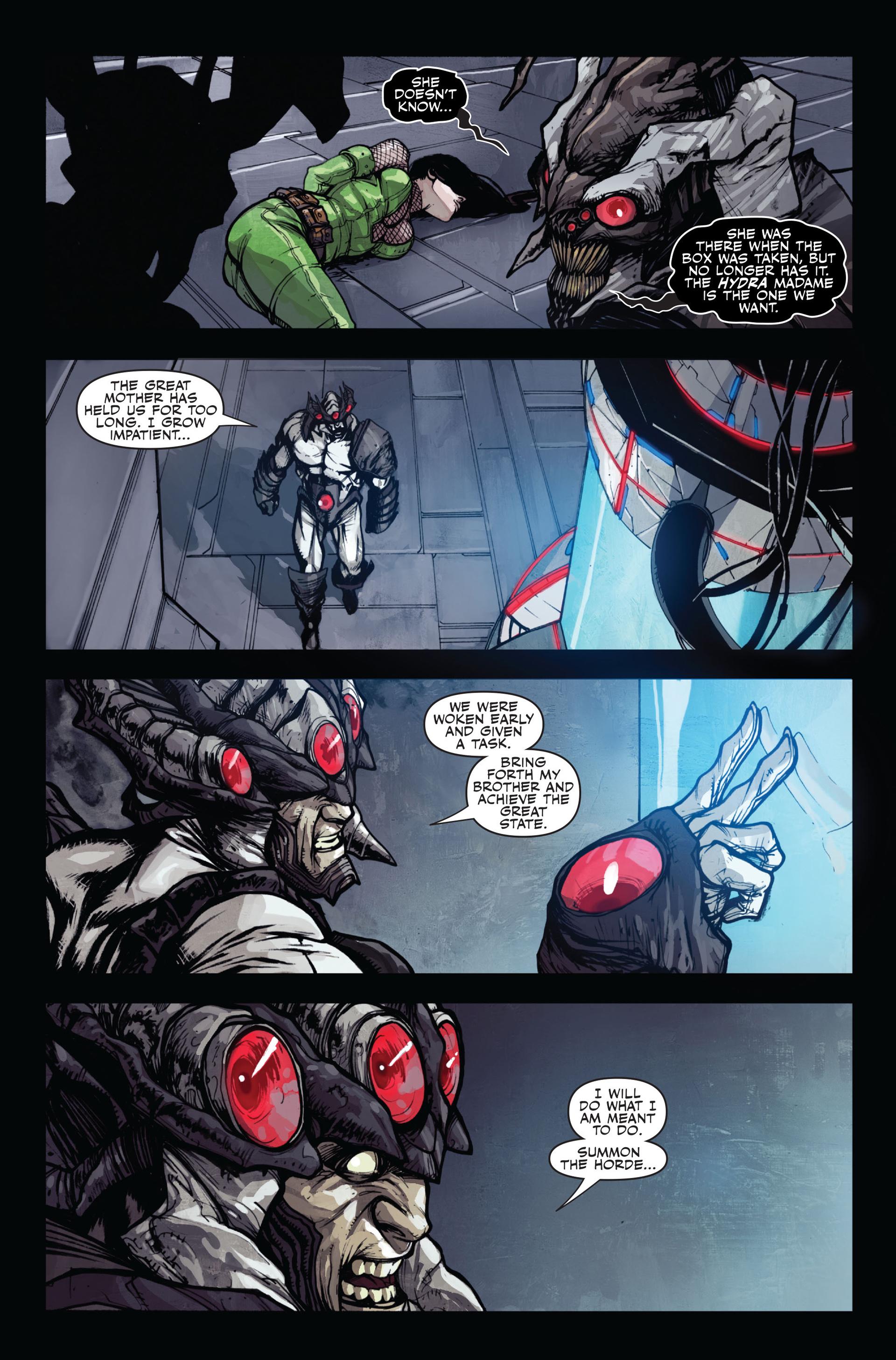 Read online Secret Warriors comic -  Issue #12 - 24