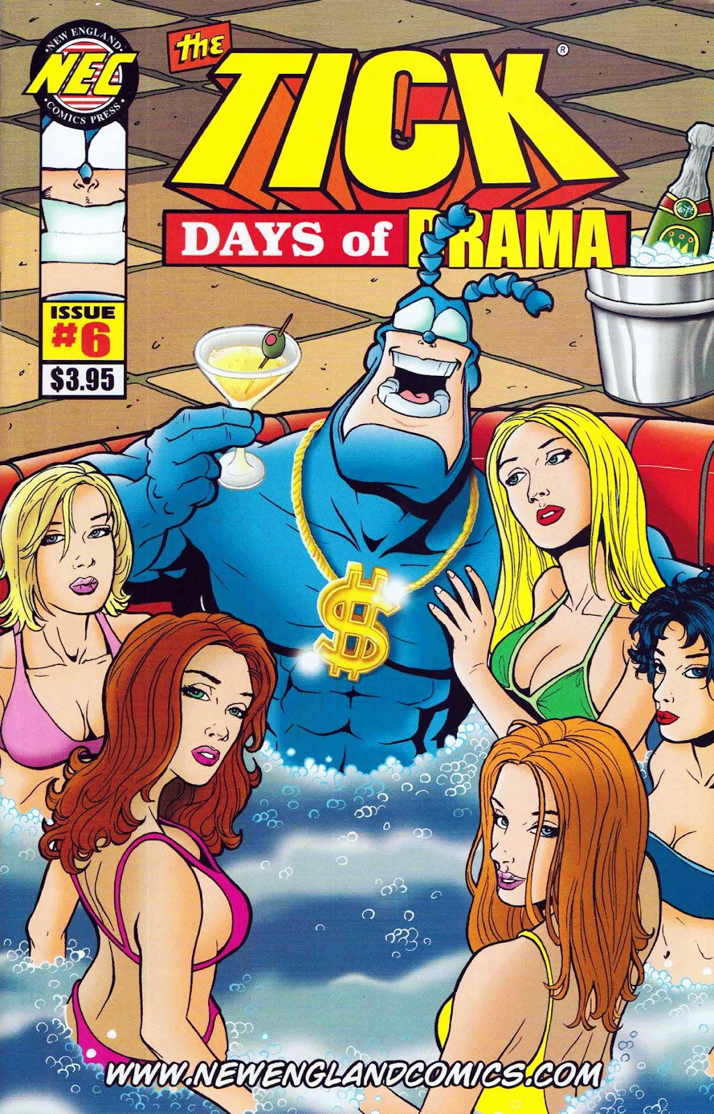 Read online The Tick: Days of Drama comic -  Issue #6 - 1