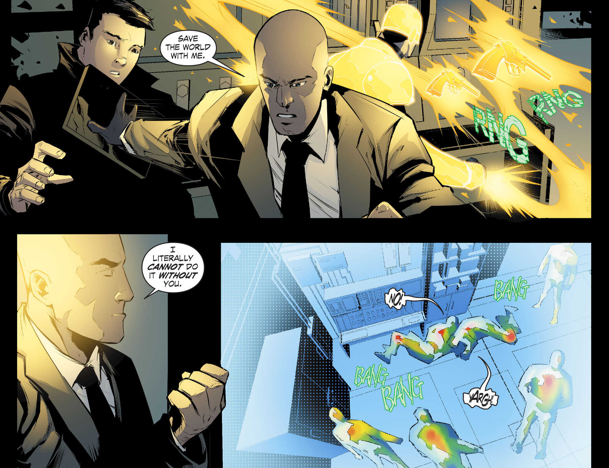 Read online Smallville: Chaos [II] comic -  Issue #4 - 21