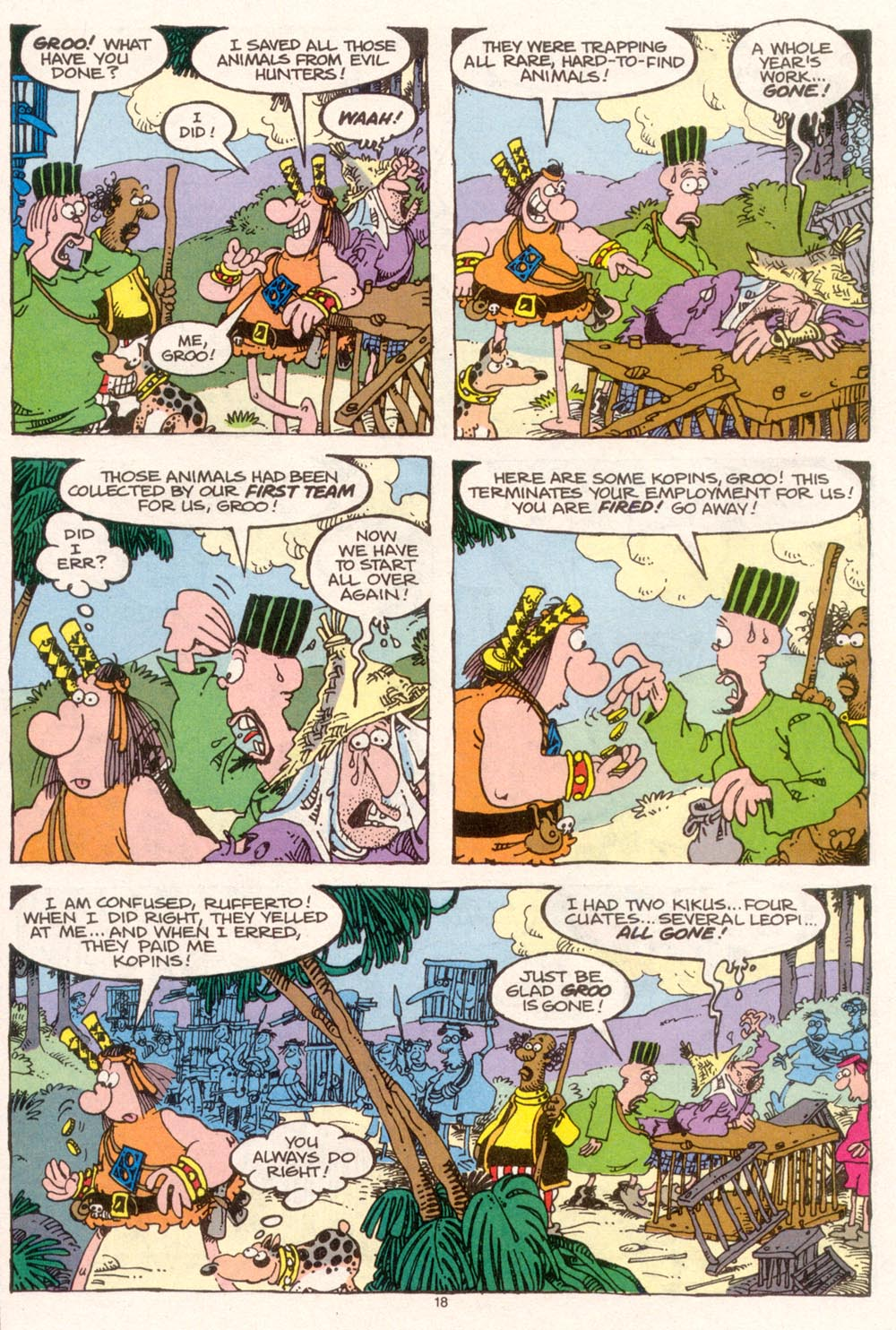 Read online Sergio Aragonés Groo the Wanderer comic -  Issue #95 - 19