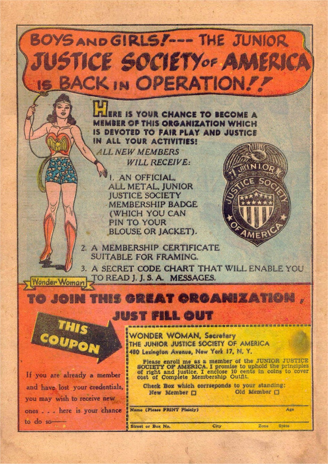 Read online Wonder Woman (1942) comic -  Issue #47 - 48