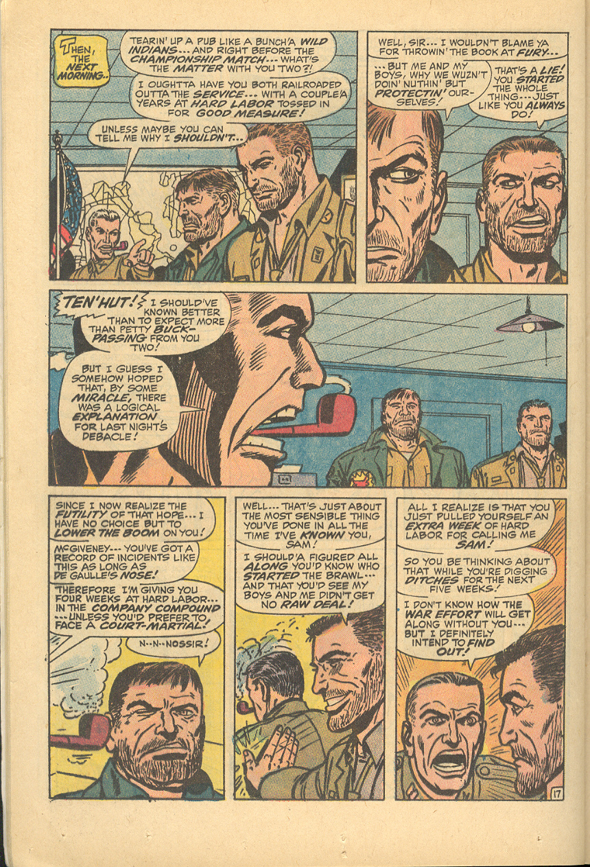 Read online Sgt. Fury comic -  Issue #83 - 24