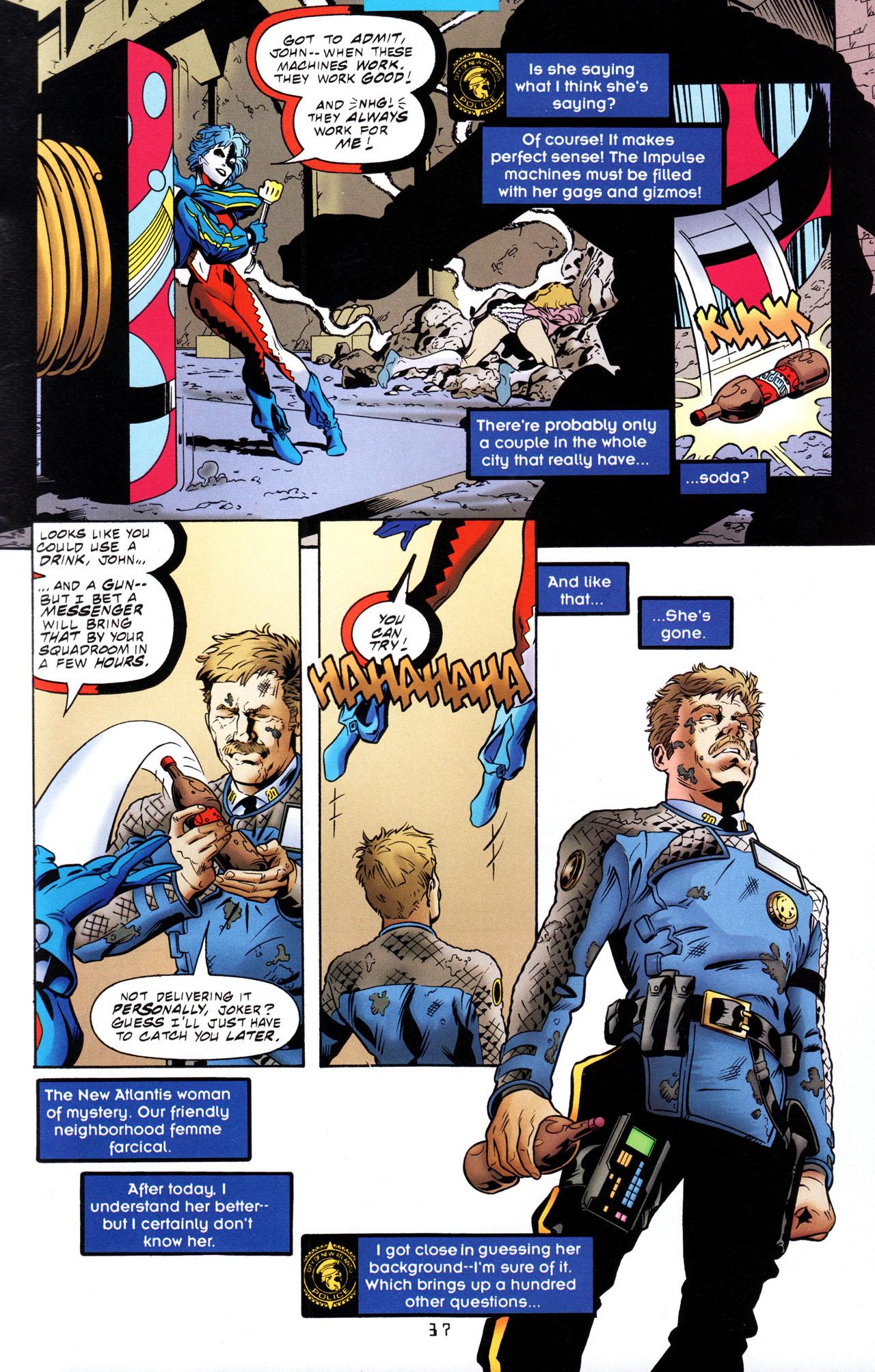 Read online Tangent Comics/ The Joker comic -  Issue # Full - 38