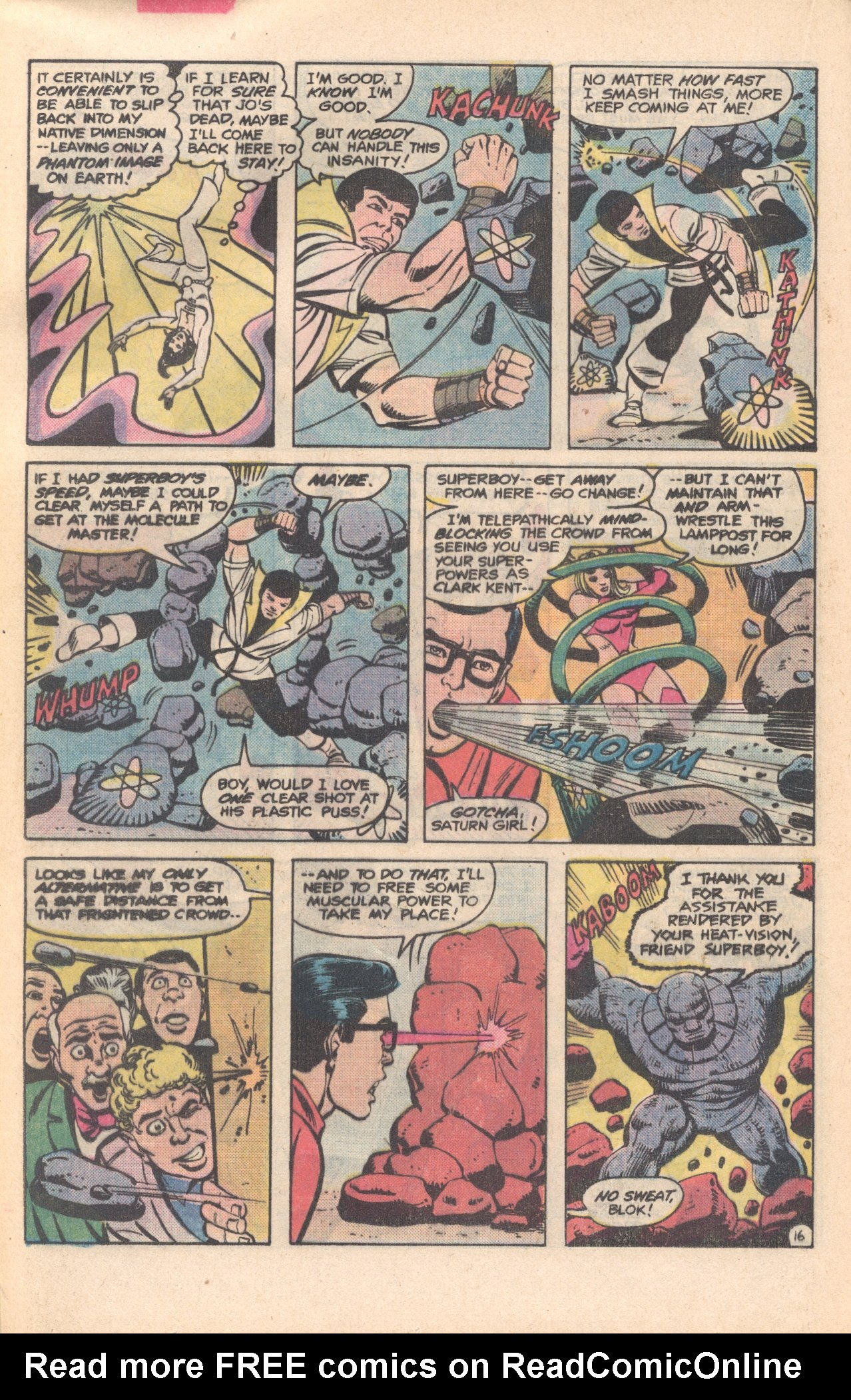 Legion of Super-Heroes (1980) 281 Page 16