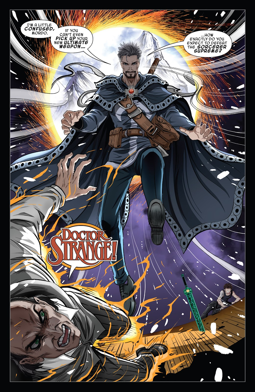 Read online Sword Master comic -  Issue #5 - 13