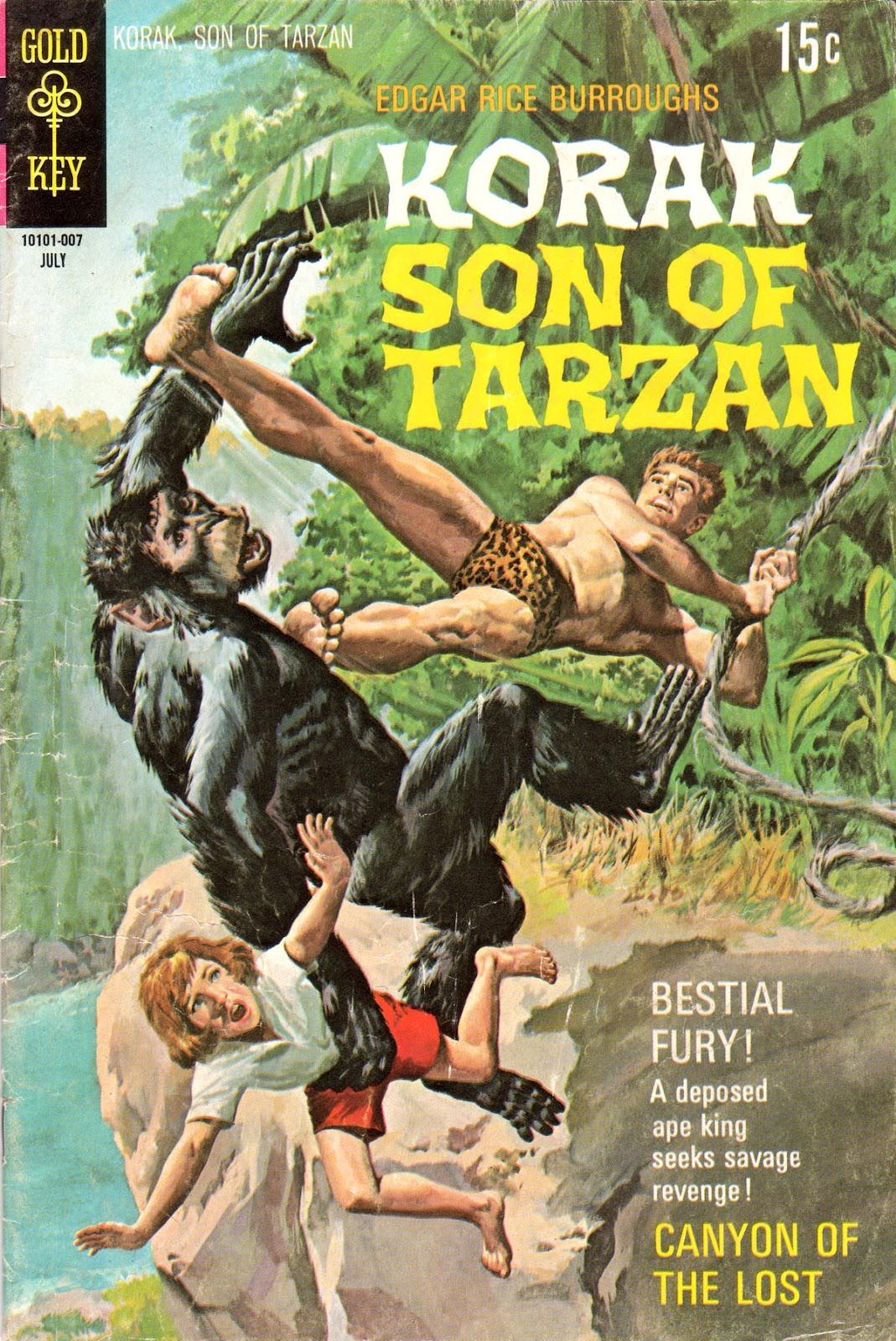 Korak, Son of Tarzan (1964) issue 36 - Page 1