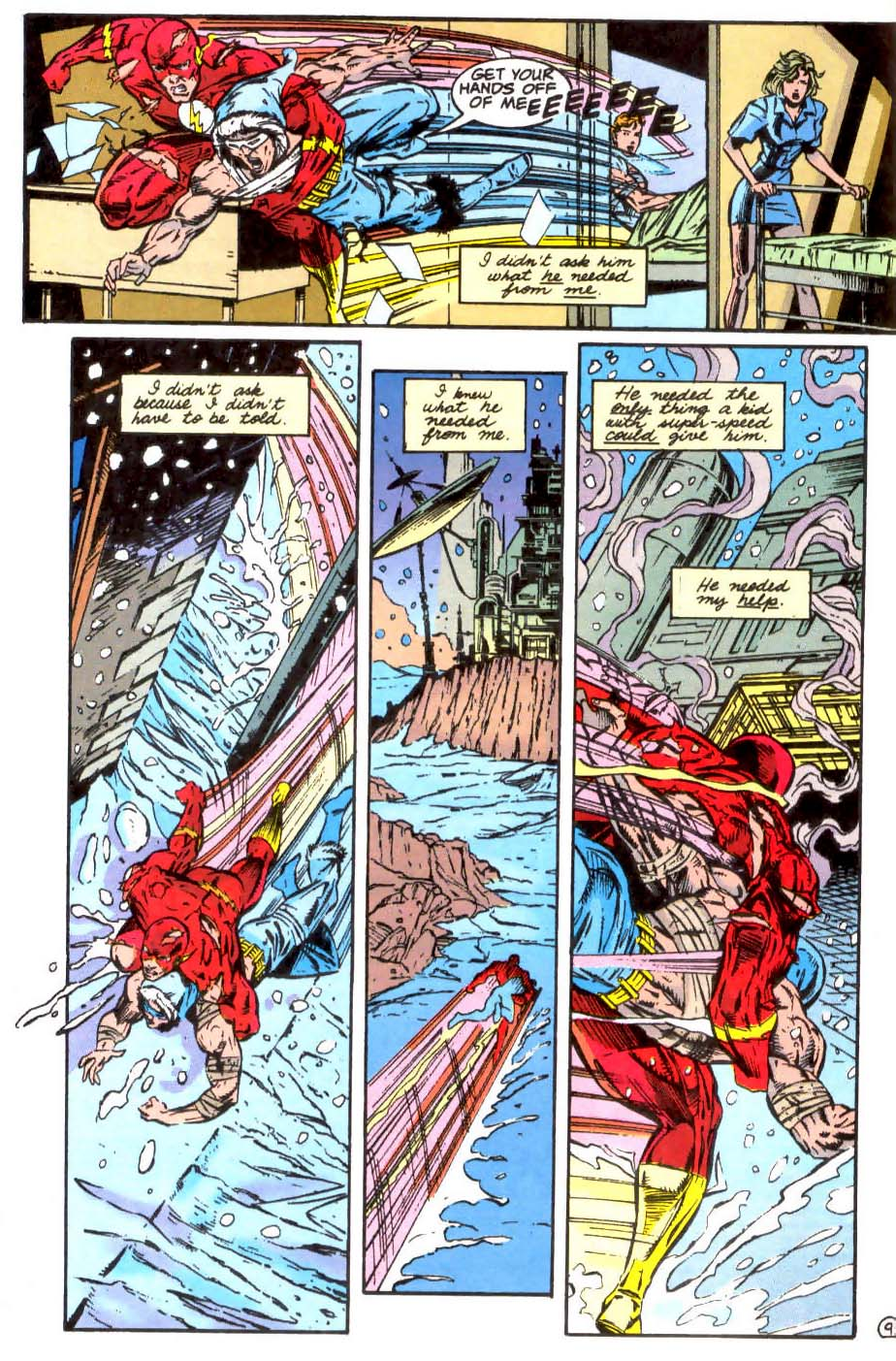 Read online The Flash (1987) comic -  Issue # _Annual 7 - 10