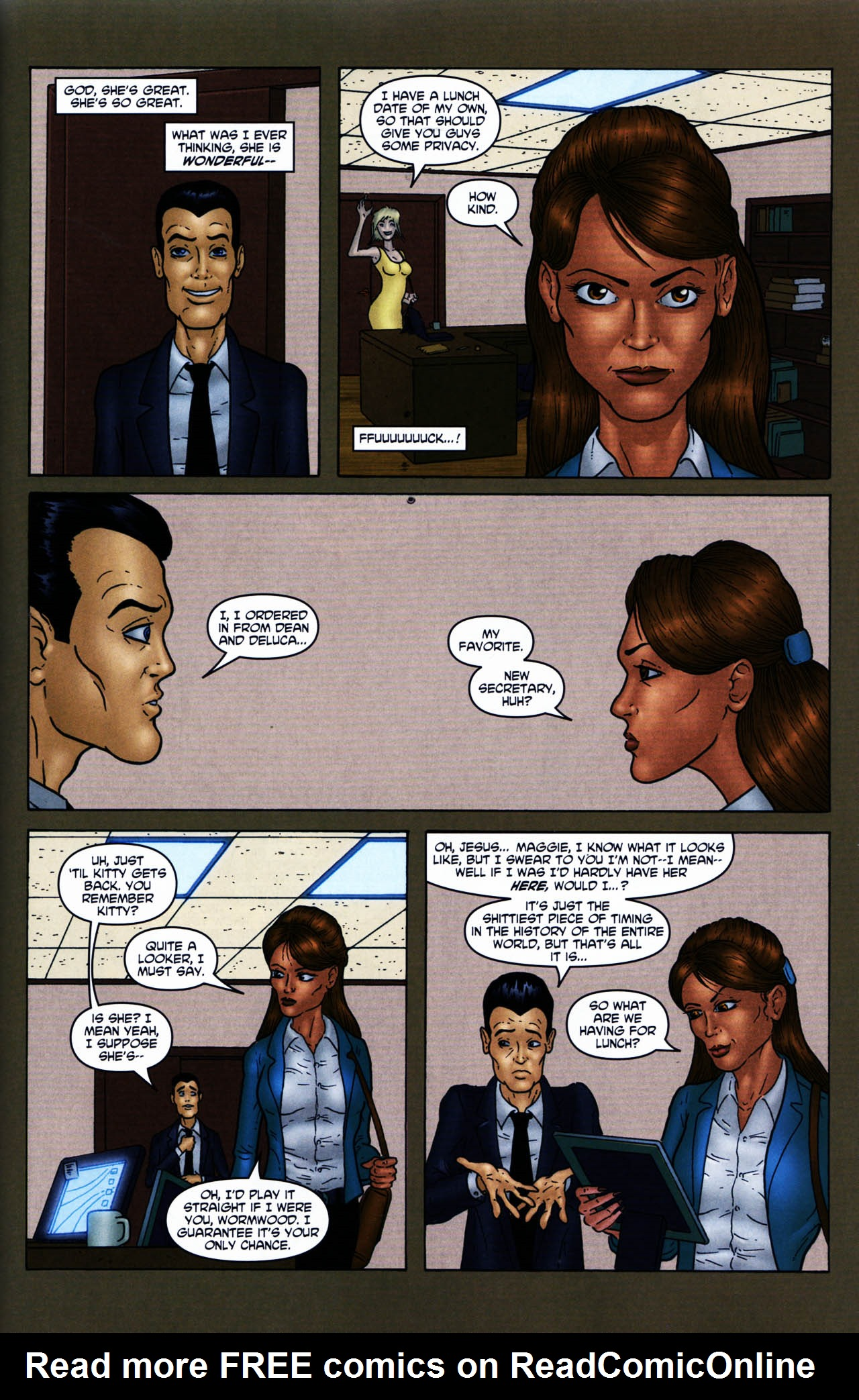 Read online Chronicles of Wormwood: The Last Enemy comic -  Issue # Full - 17