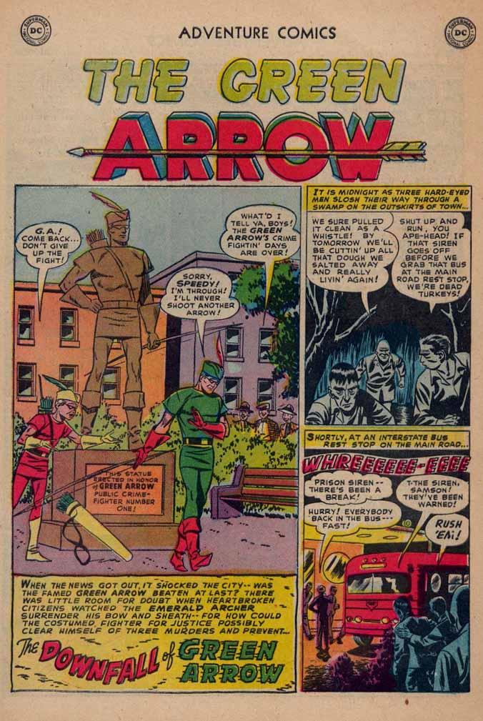 Read online Adventure Comics (1938) comic -  Issue #187 - 35