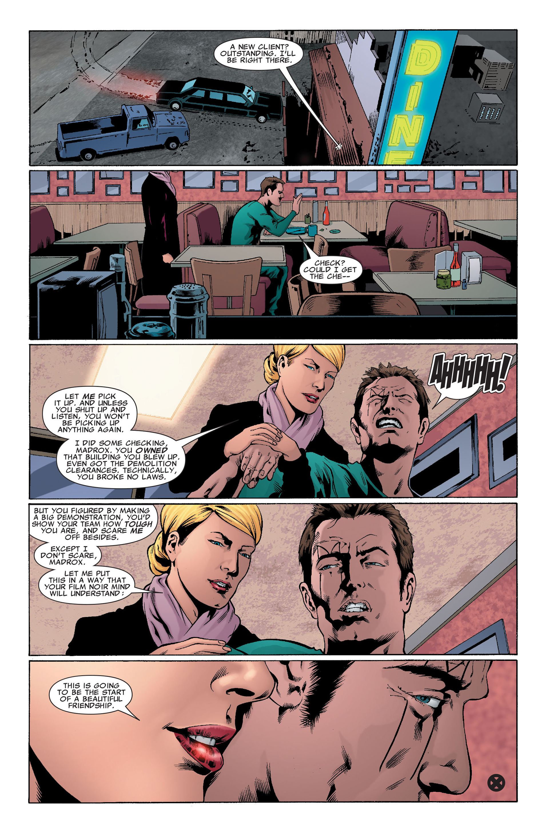 Read online X-Factor (2006) comic -  Issue #32 - 24