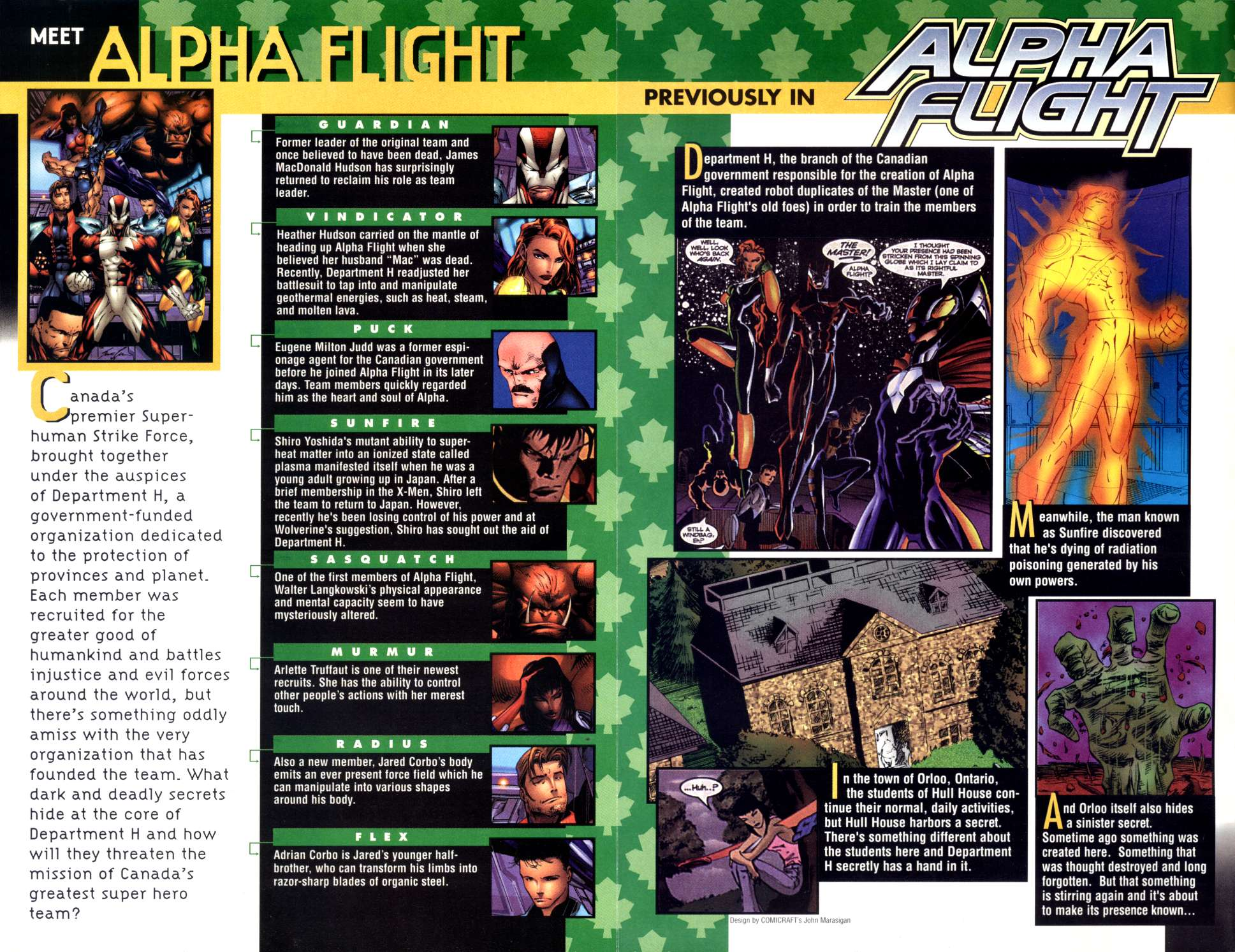 Read online Alpha Flight (1997) comic -  Issue #3 - 2