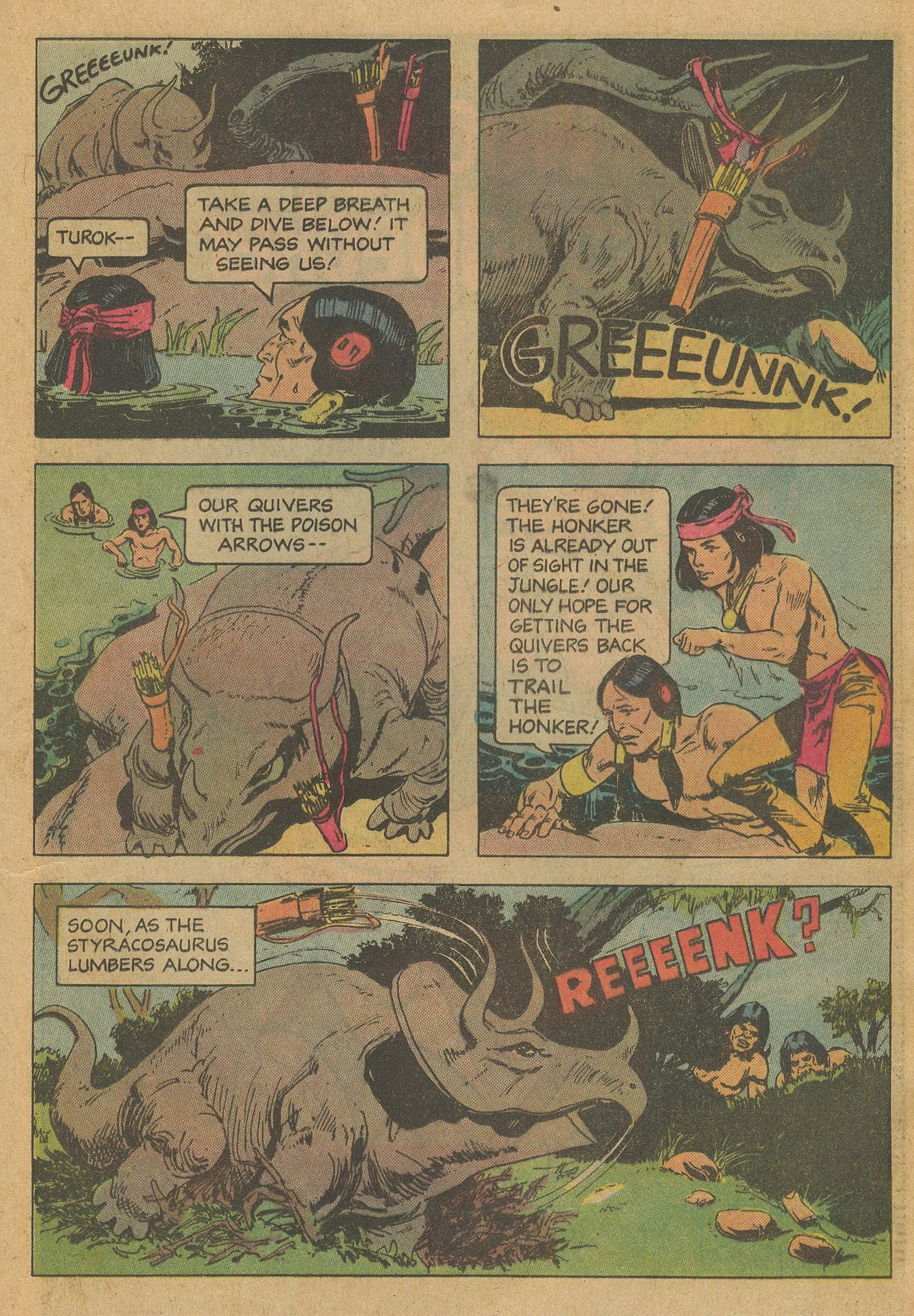 Read online Turok, Son of Stone comic -  Issue #126 - 21