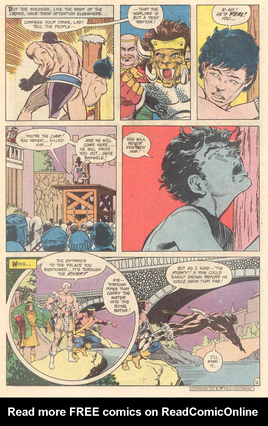 Warlord (1976) issue 89 - Page 16