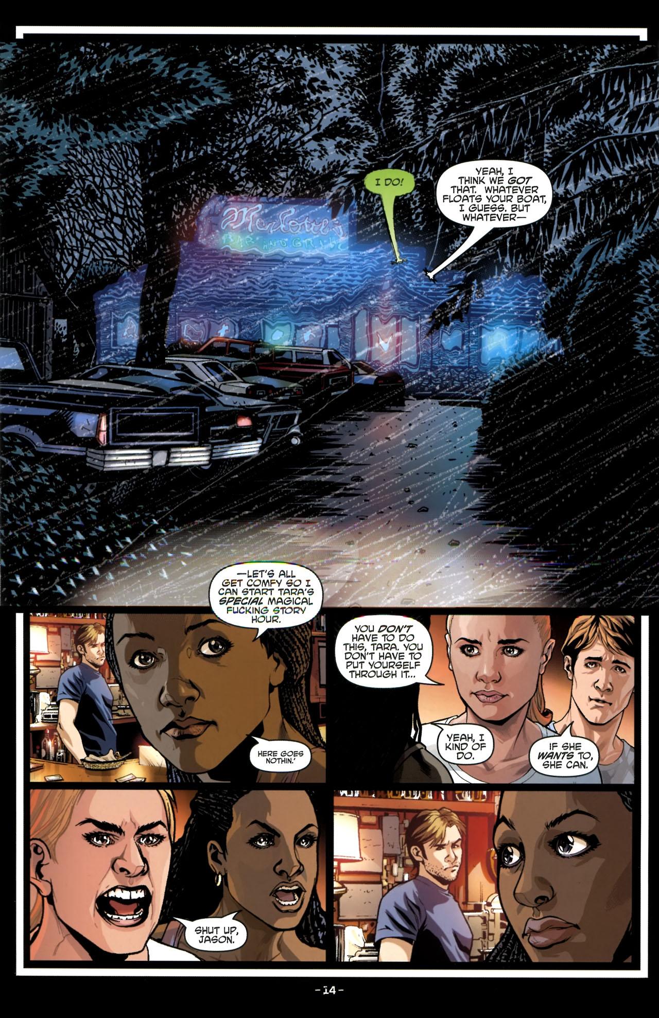 Read online True Blood (2010) comic -  Issue #3 - 16