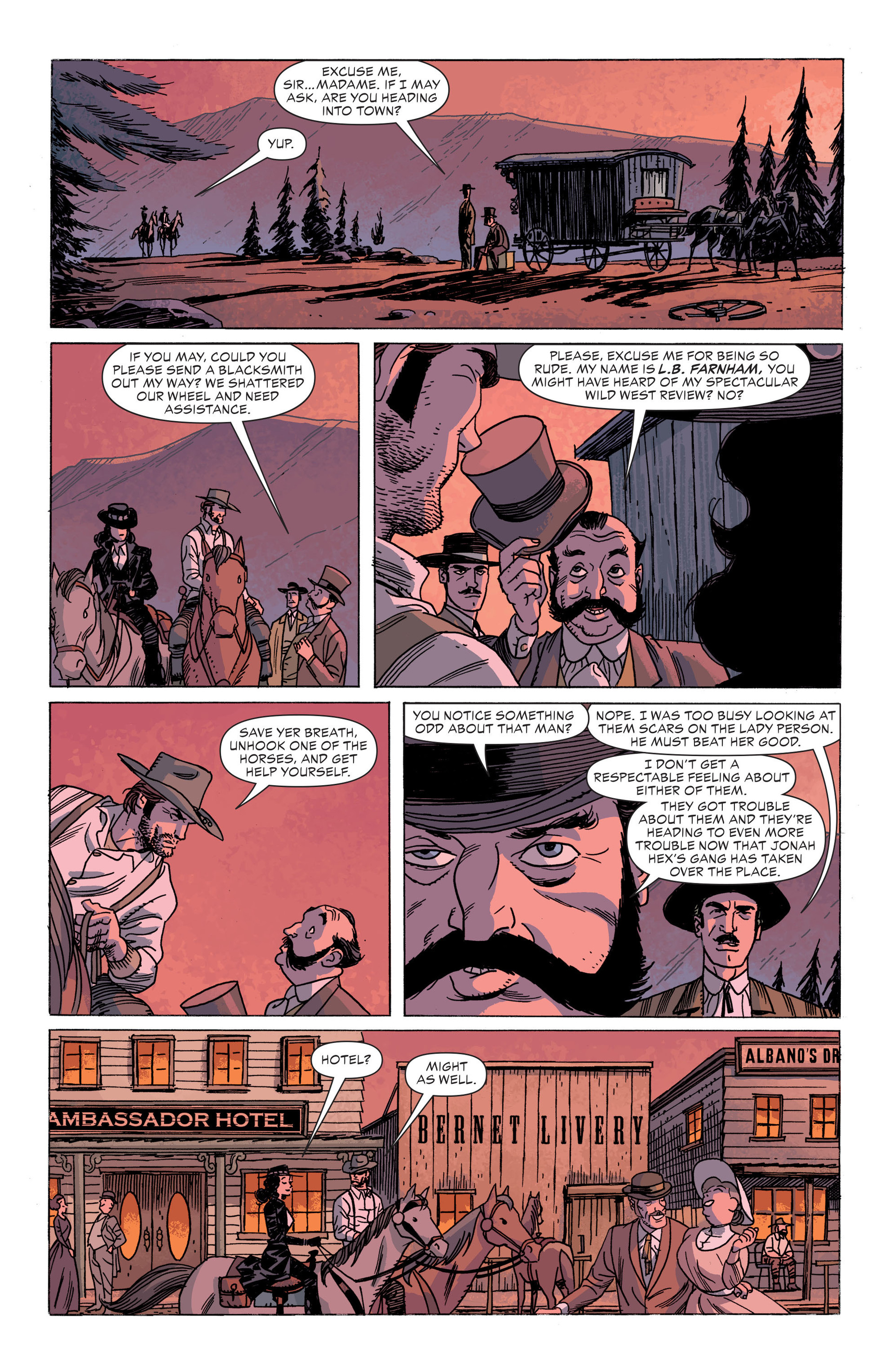 Read online All-Star Western (2011) comic -  Issue #34 - 6