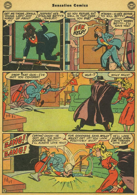 Read online Sensation (Mystery) Comics comic -  Issue #80 - 34