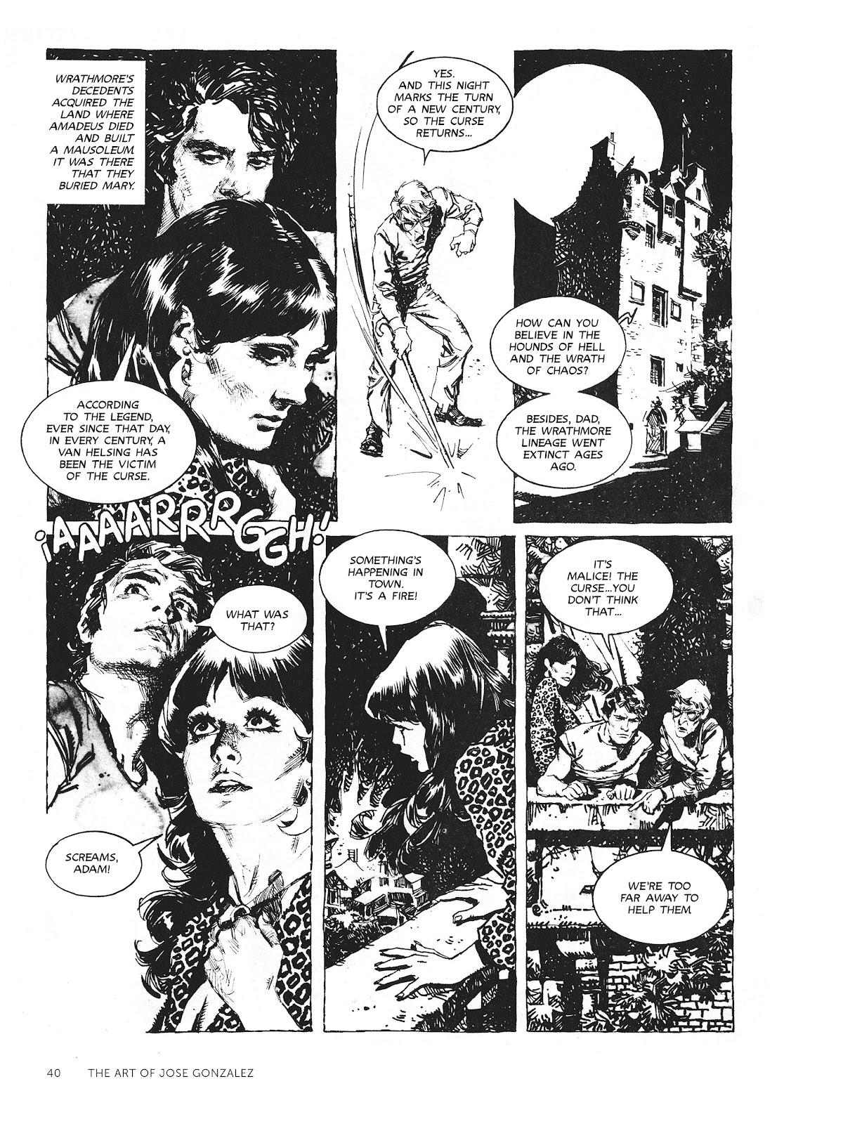 Read online The Art of Jose Gonzalez comic -  Issue # TPB (Part 1) - 41