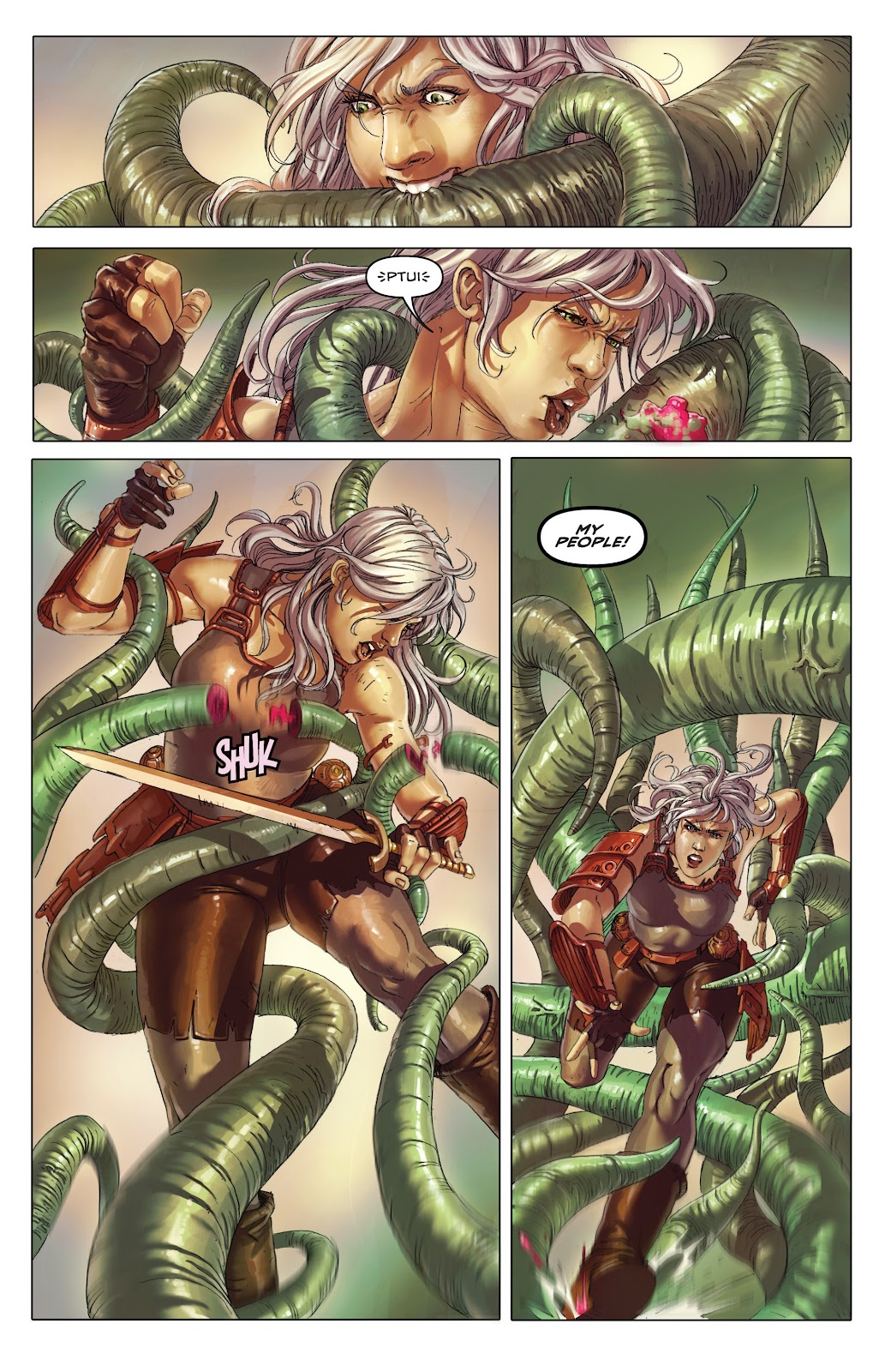 Read online Taarna comic -  Issue #4 - 11