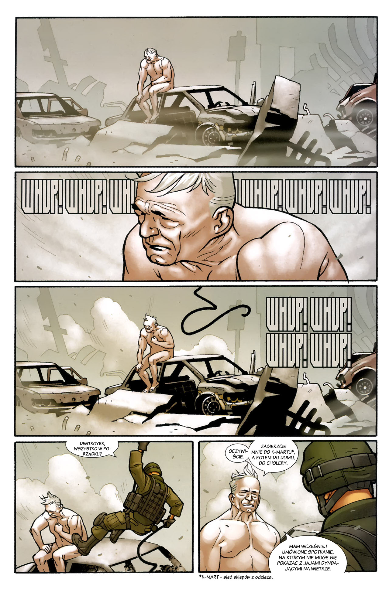 Read online Destroyer comic -  Issue #1 - 8
