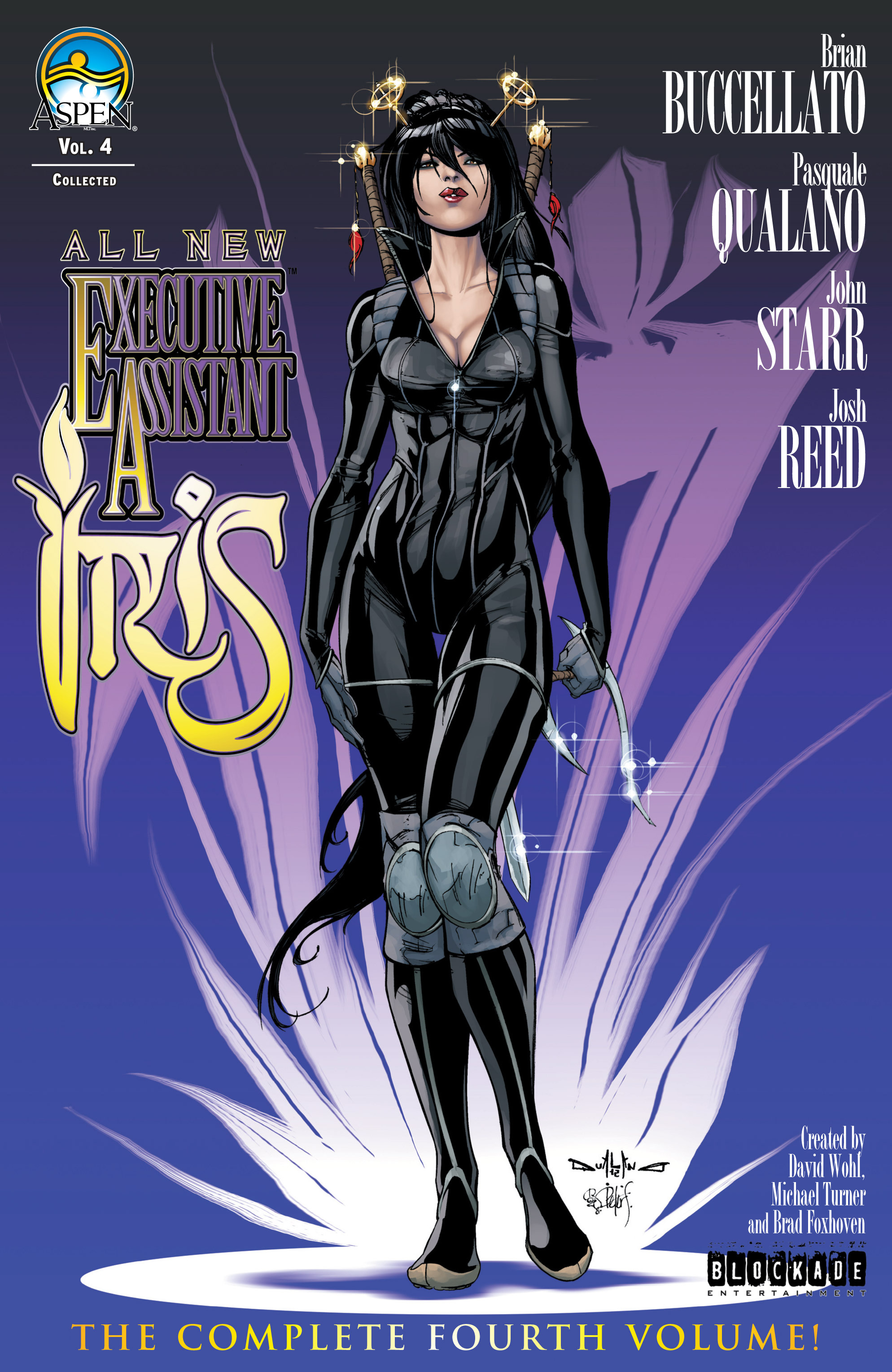 Read online All New Executive Assistant: Iris comic -  Issue # TPB - 1