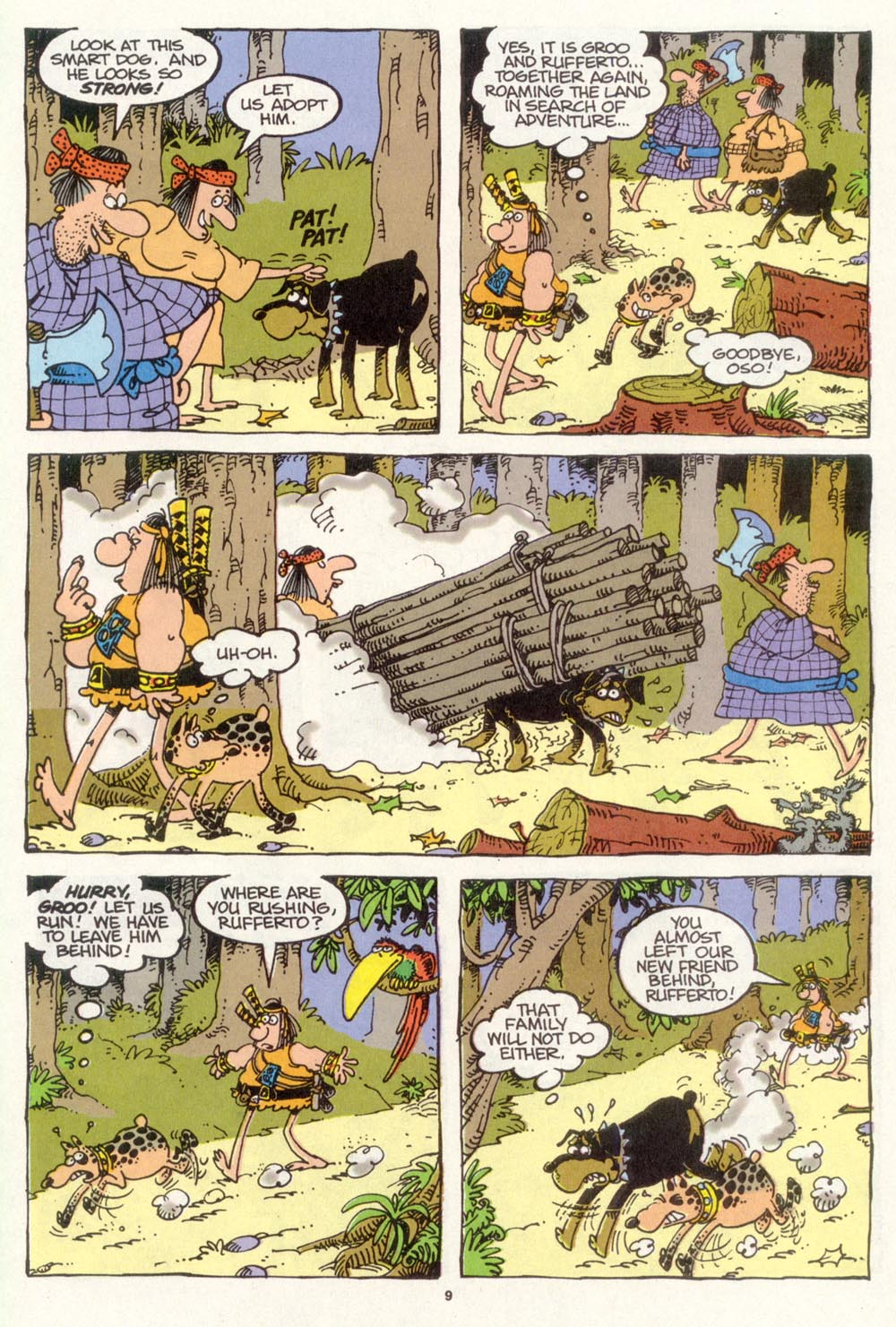 Read online Sergio Aragonés Groo the Wanderer comic -  Issue #104 - 11