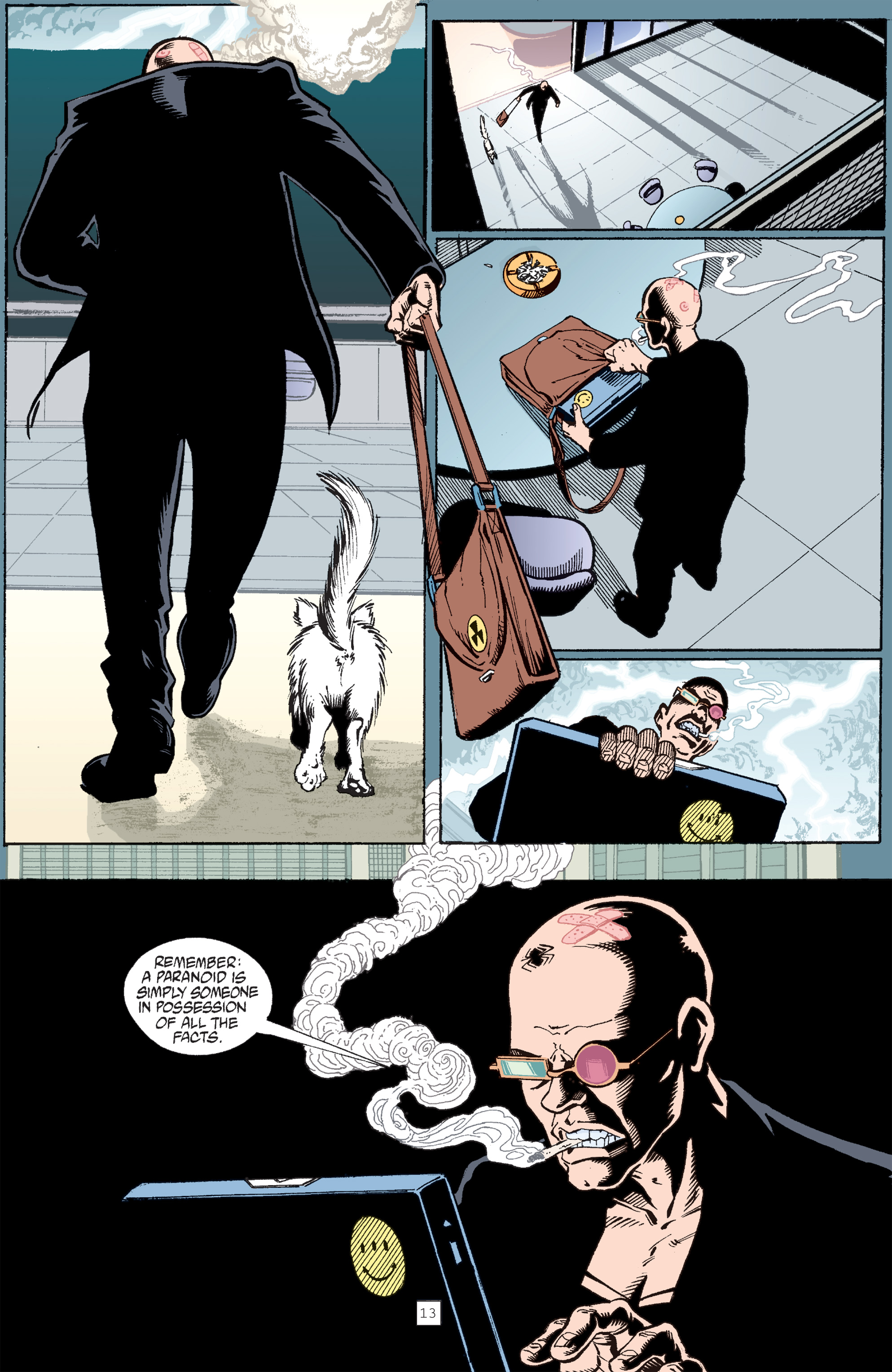 Read online Transmetropolitan comic -  Issue #30 - 14