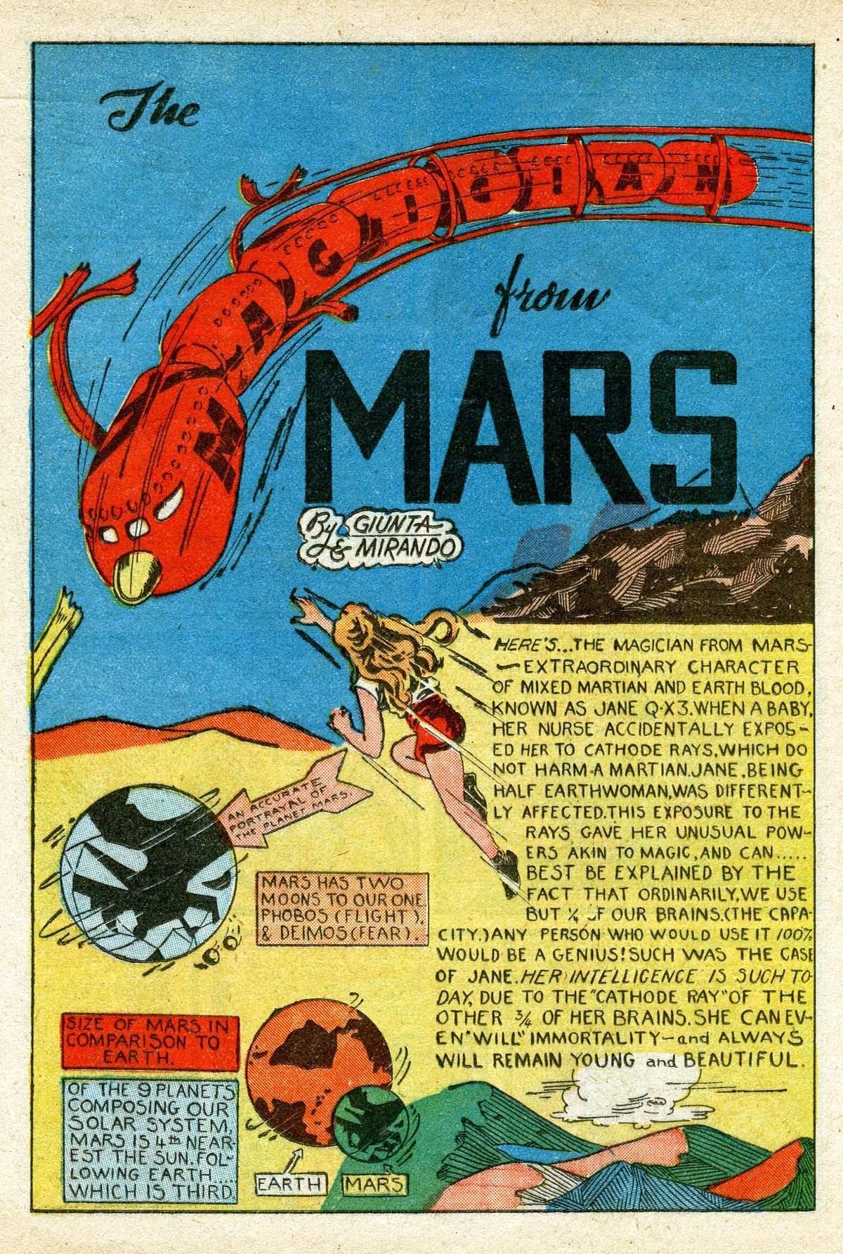 Read online Amazing Man Comics comic -  Issue #8 - 30