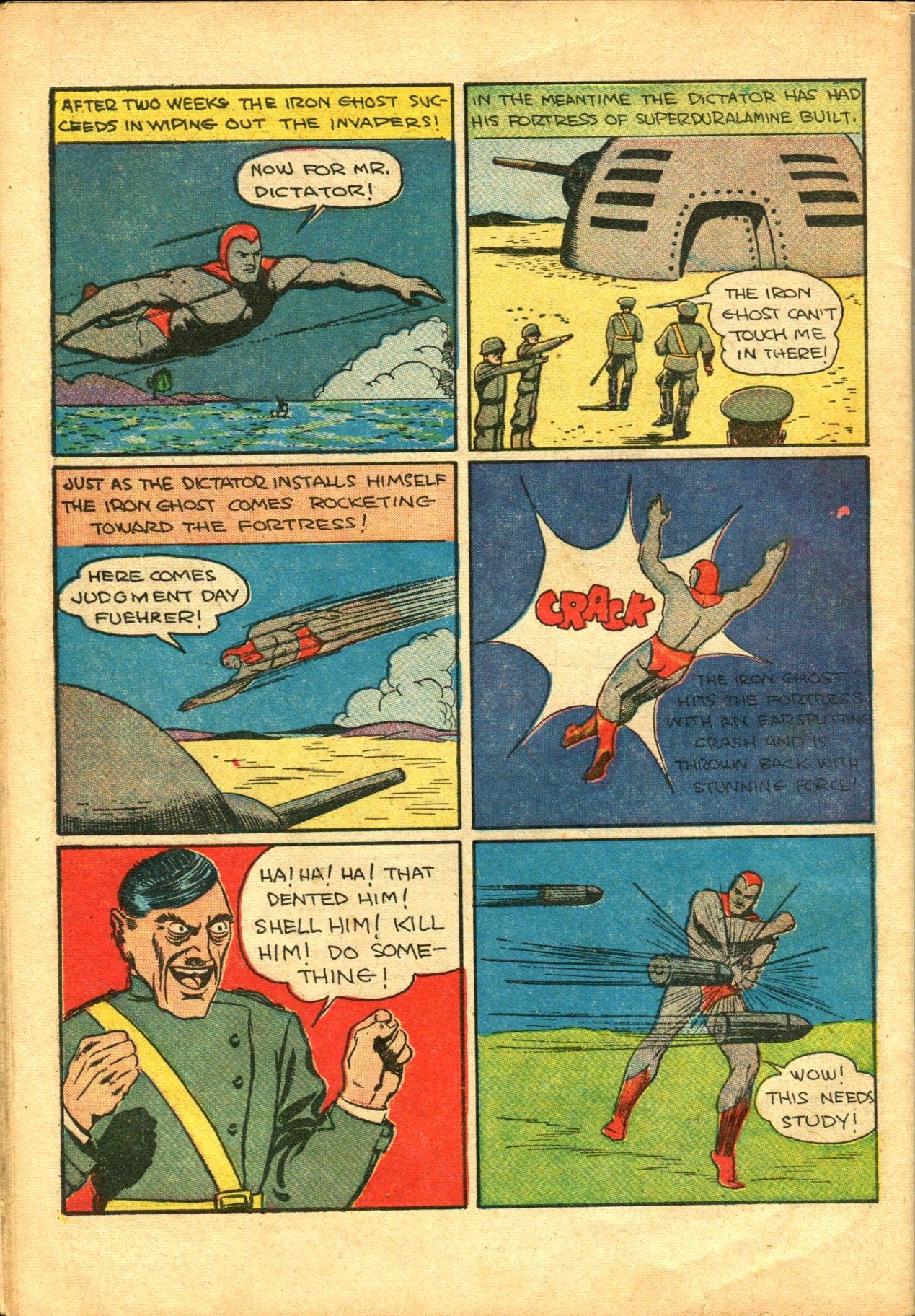 Read online Shadow Comics comic -  Issue #10 - 56
