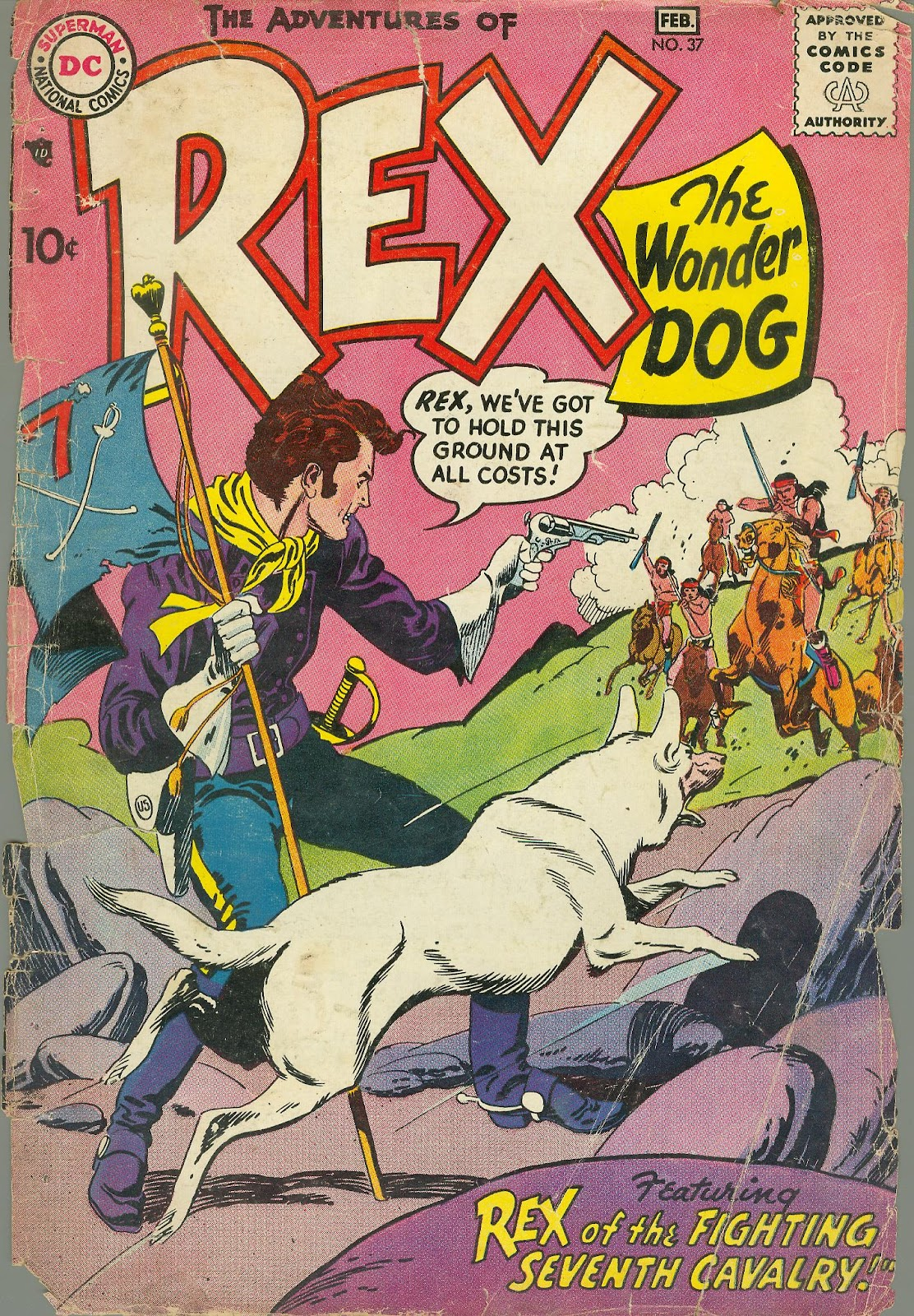 The Adventures of Rex the Wonder Dog issue 37 - Page 1