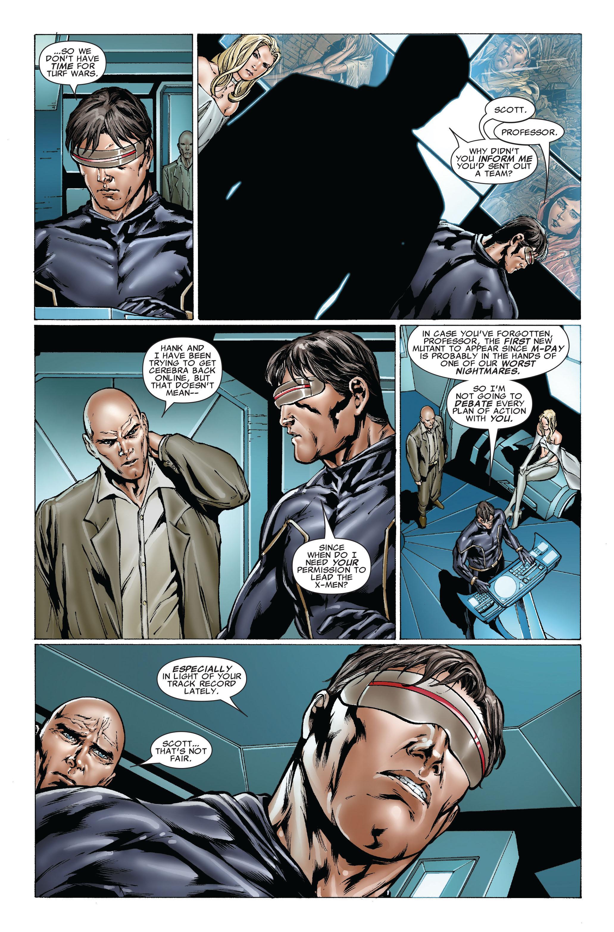 Read online Uncanny X-Men (1963) comic -  Issue #492 - 6