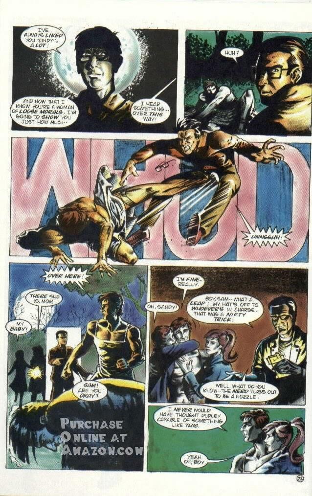 Read online Quantum Leap comic -  Issue #6 - 23