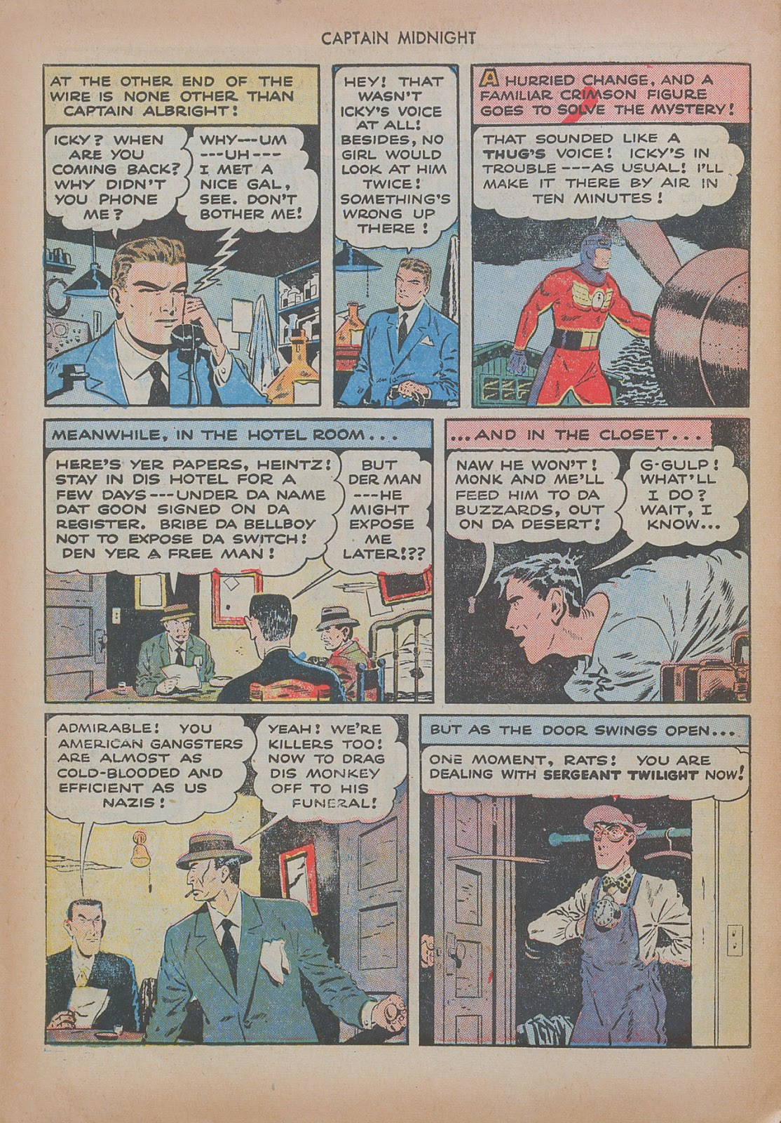 Captain Midnight (1942) issue 20 - Page 30
