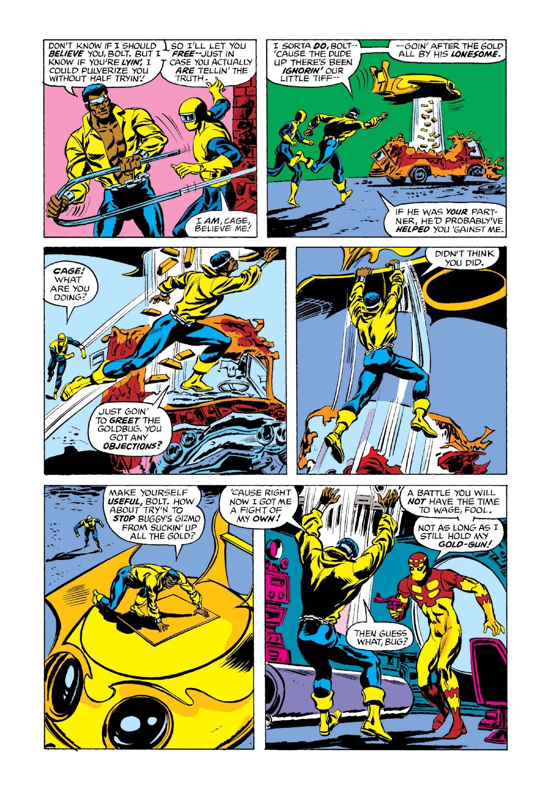 Read online Marvel Masterworks: Luke Cage, Power Man comic -  Issue # TPB 3 (Part 3) - 5