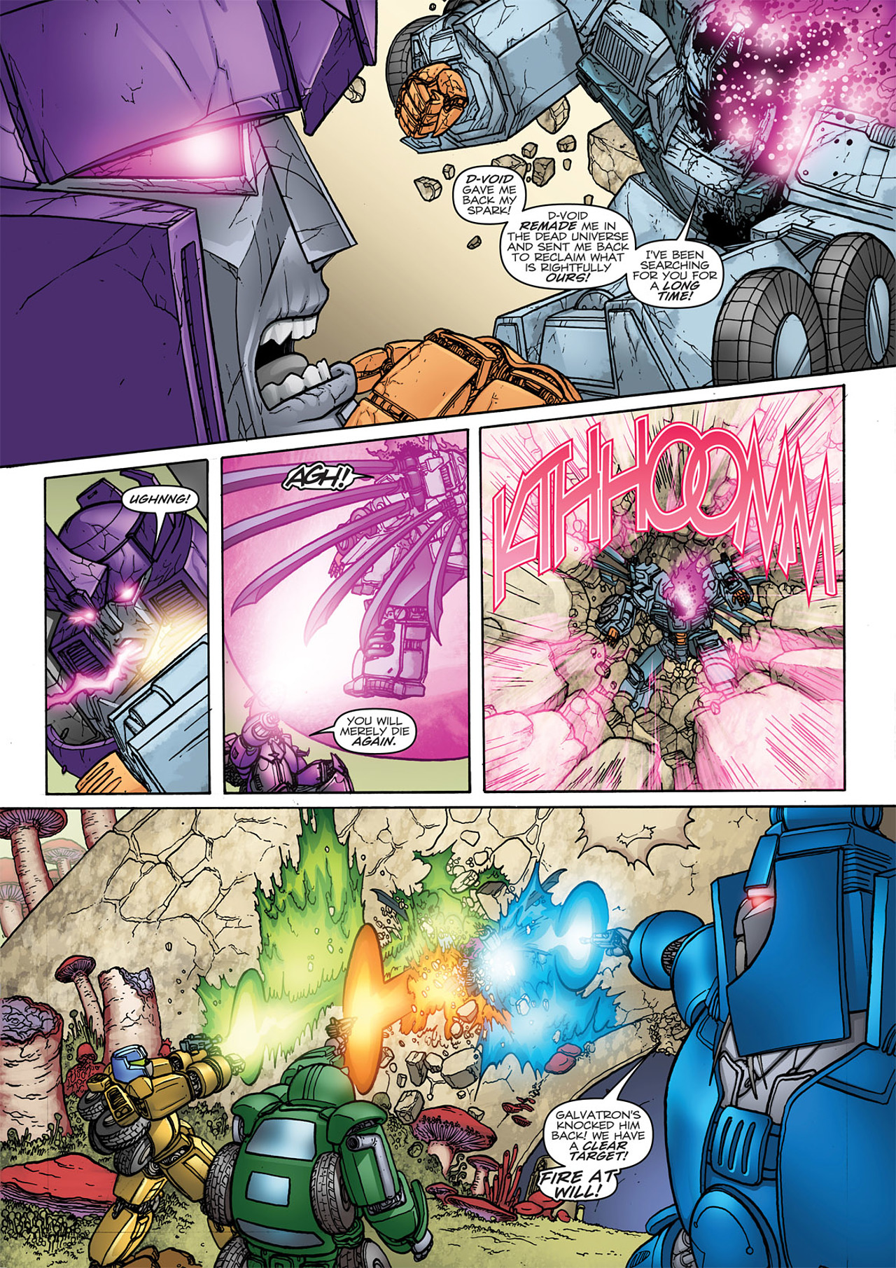 Read online Transformers: Heart of Darkness comic -  Issue #4 - 9