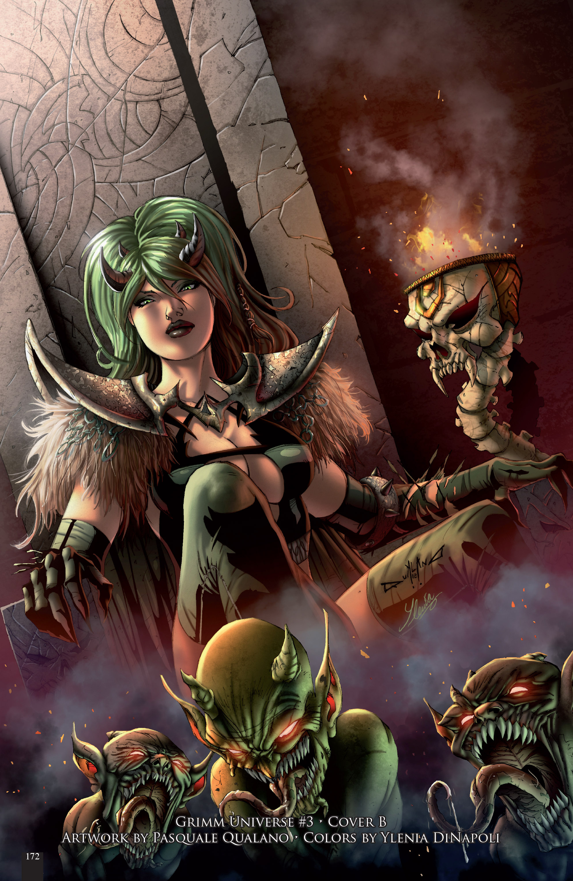 Read online Grimm Fairy Tales presents Grimm Universe comic -  Issue # TPB - 180