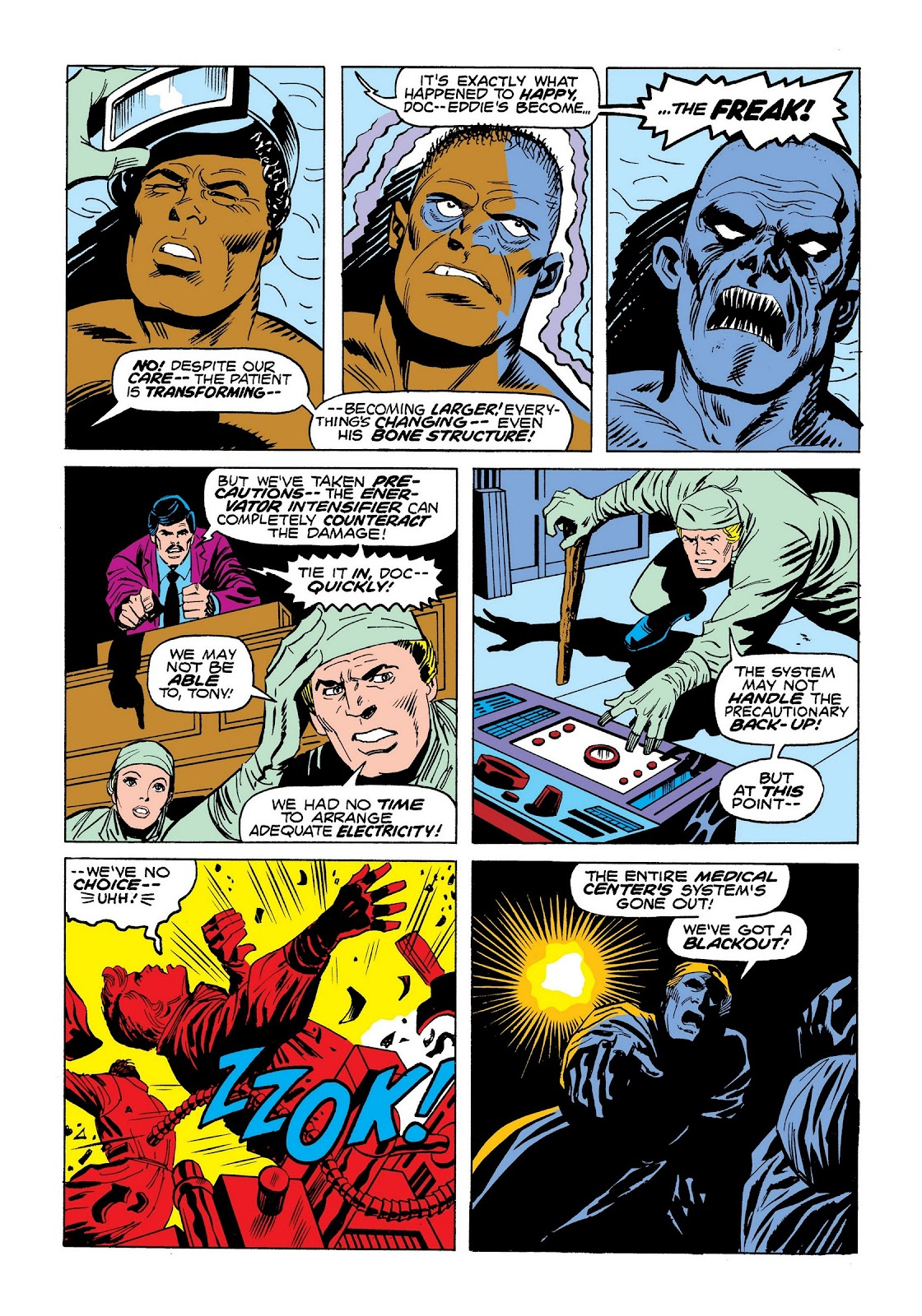Read online Marvel Masterworks: The Invincible Iron Man comic -  Issue # TPB 9 (Part 3) - 82
