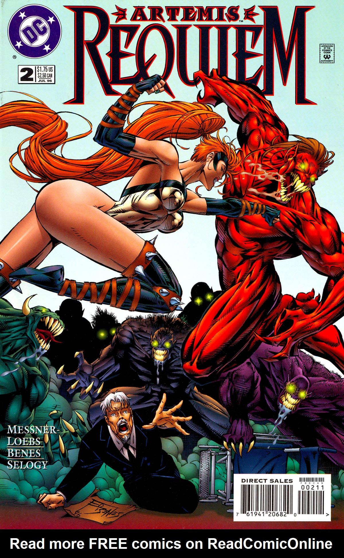 Read online Artemis: Requiem comic -  Issue #2 - 1