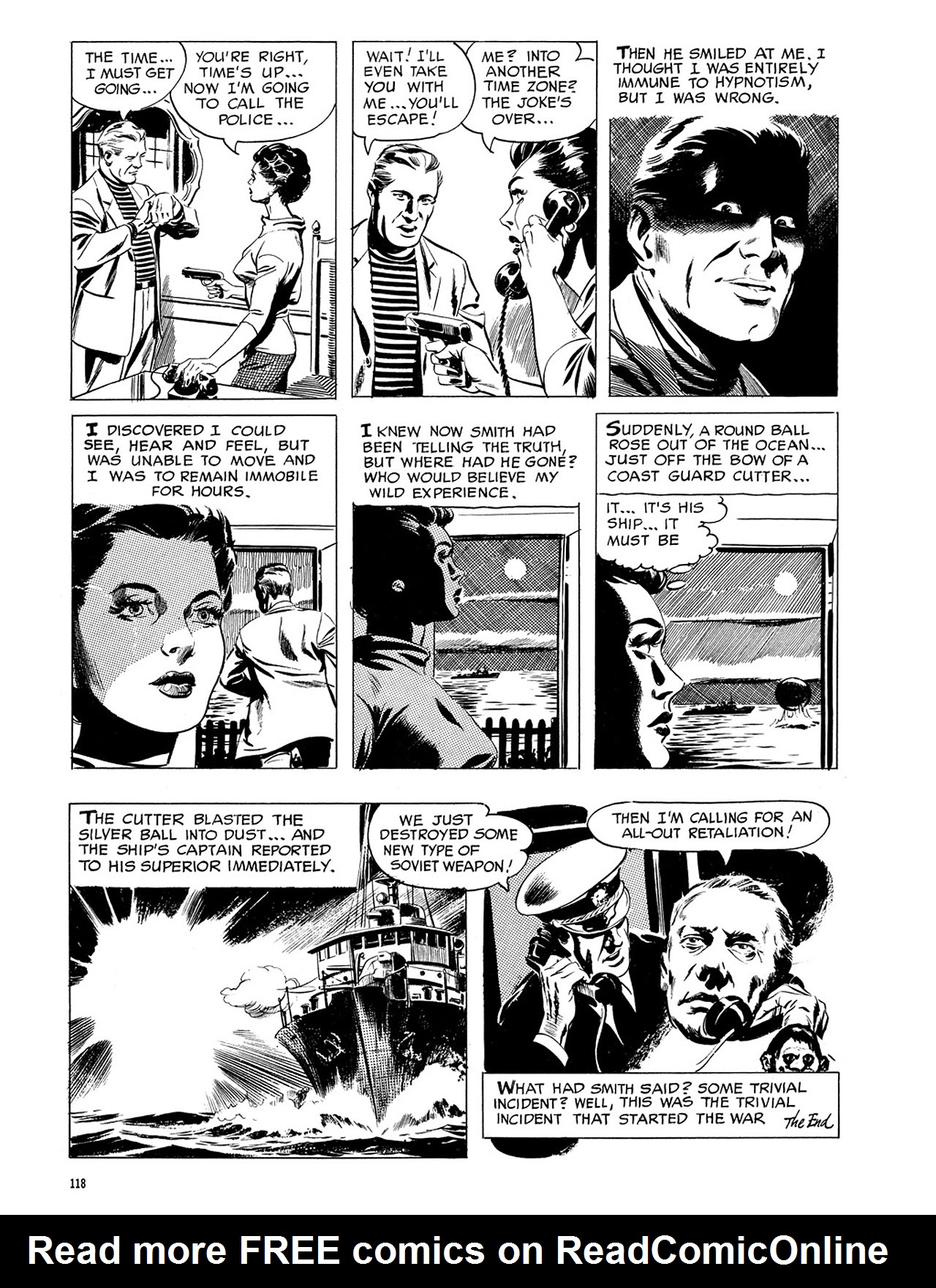Read online Eerie Archives comic -  Issue # TPB 3 - 119