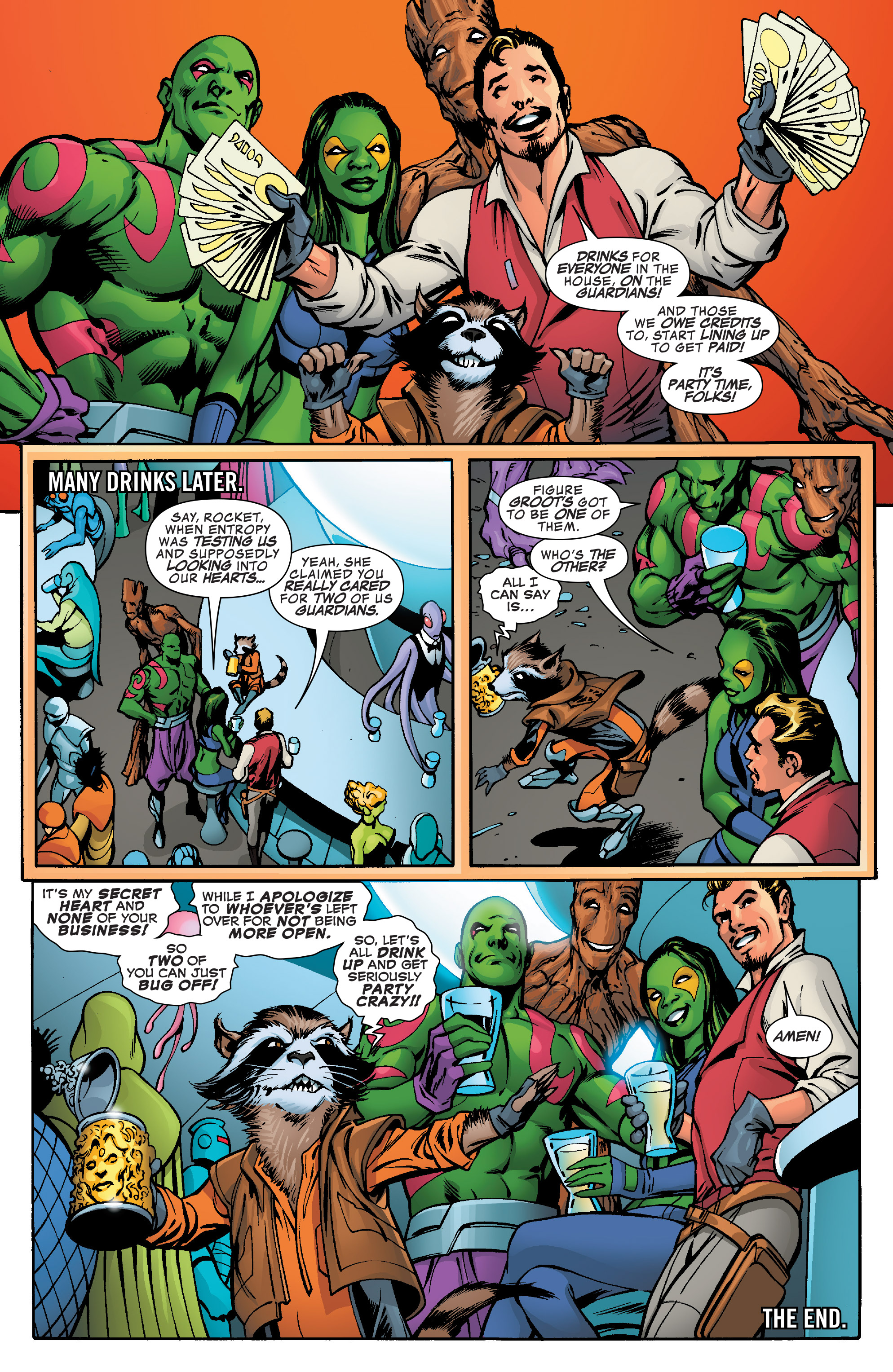 Read online Guardians of the Galaxy: Mother Entropy comic -  Issue #5 - 20